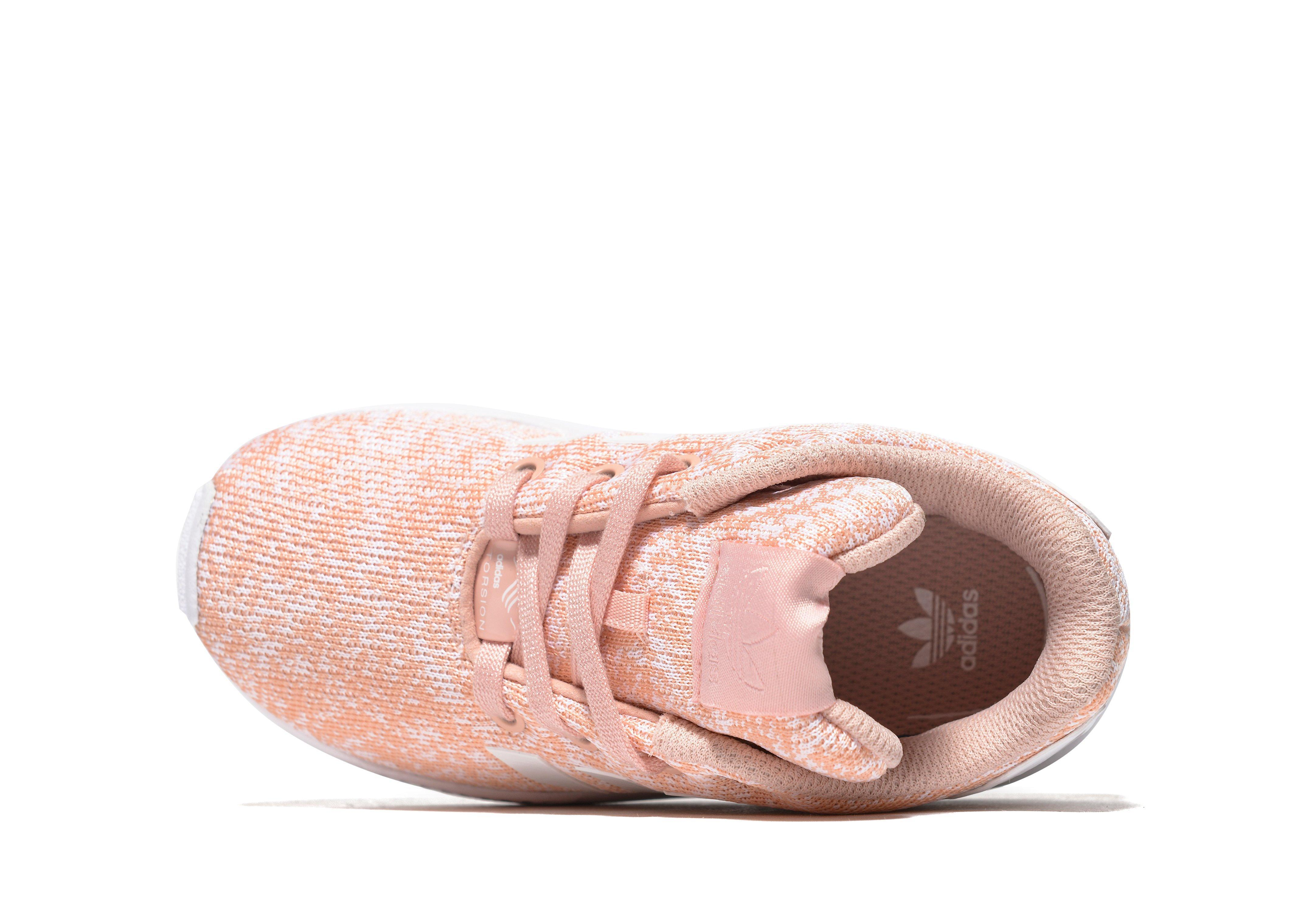 da14f7ae4560 ... cheap lyst adidas originals zx flux infant in pink f88e8 cb795