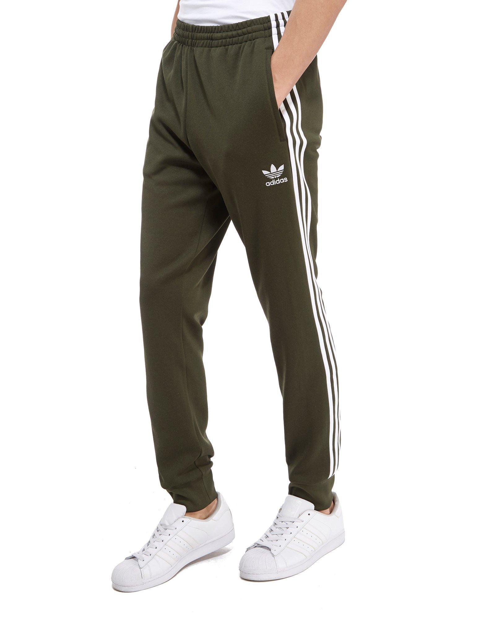 adidas original green stripes