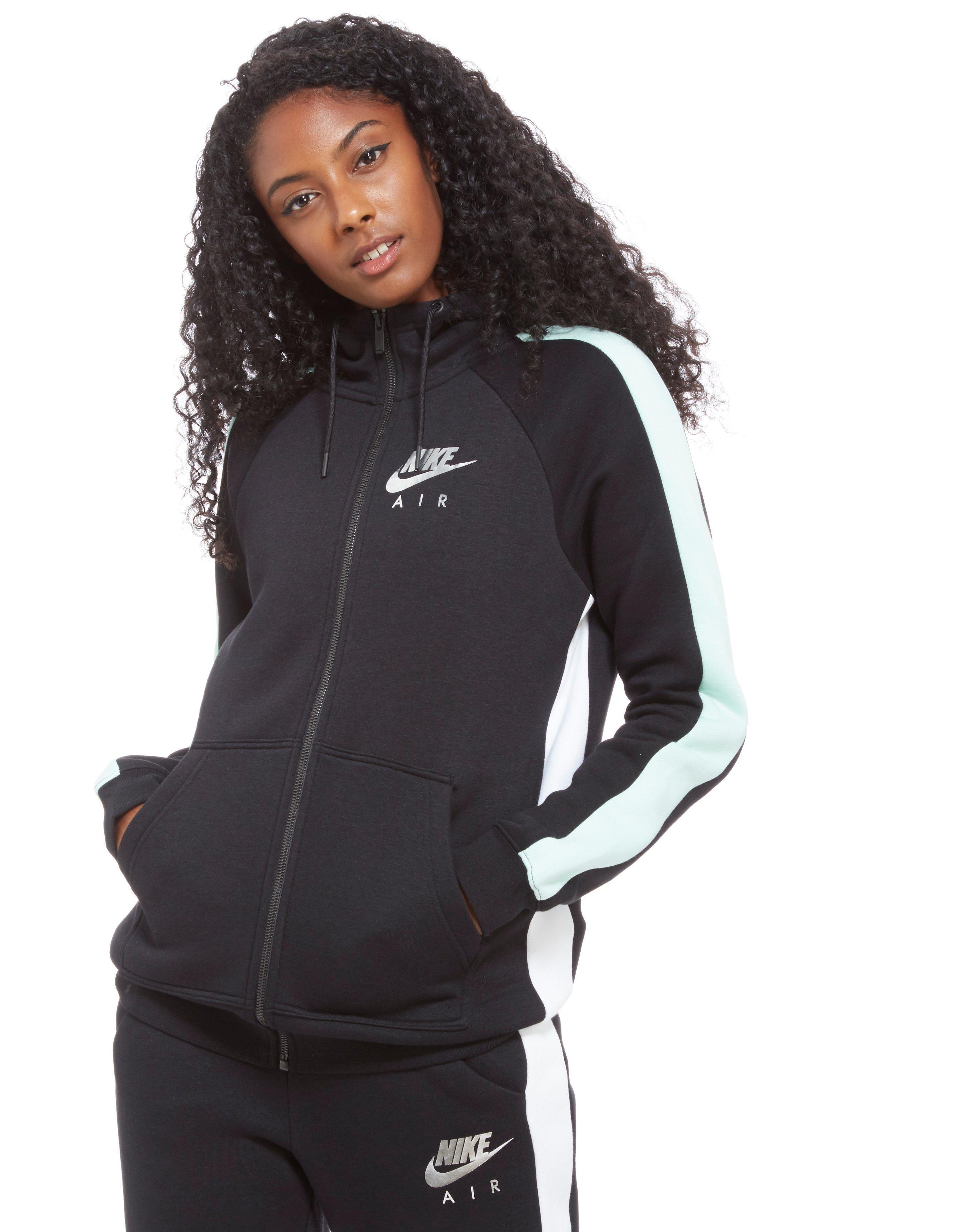 Lyst Nike Air Full Zip Hoody in Black