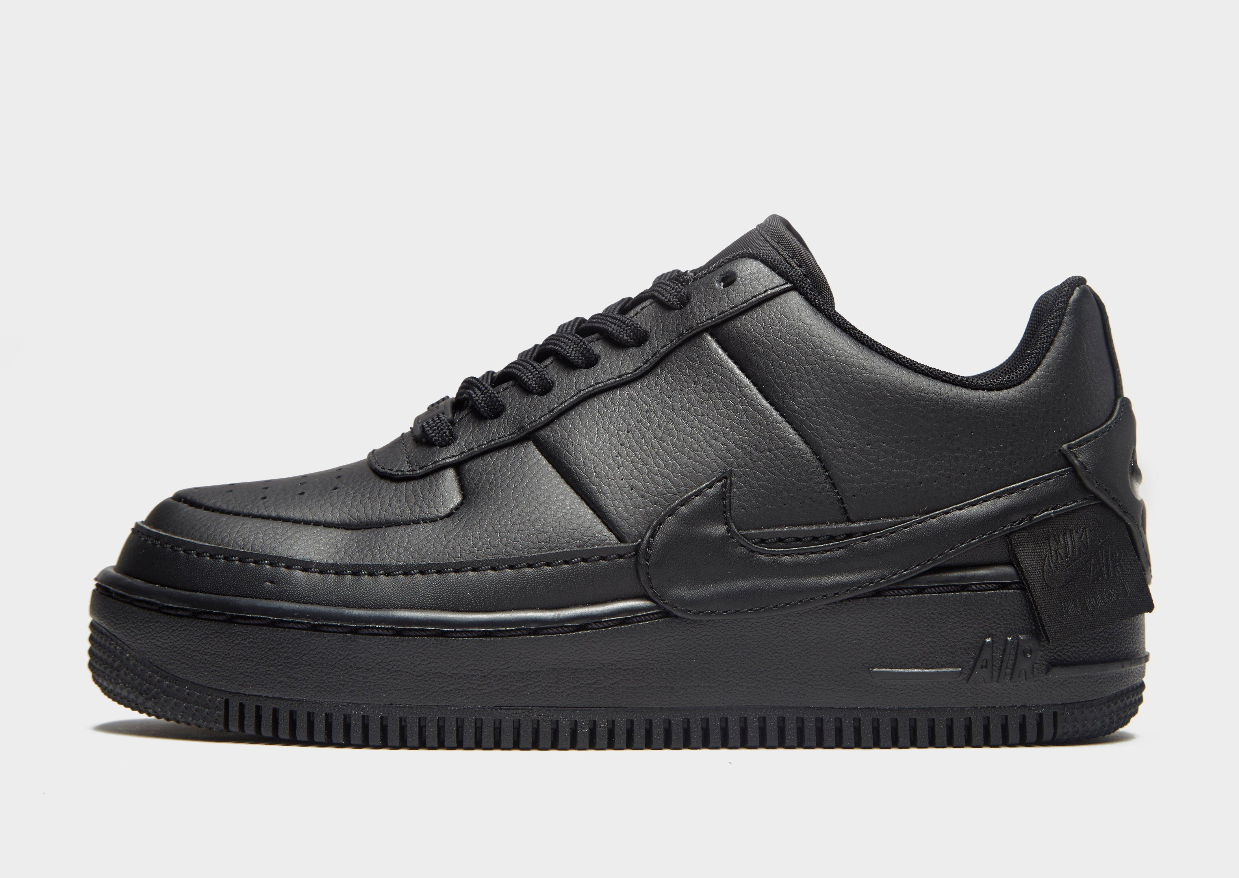 low priced 7cc91 52179 Nike. Women s Black Air Force 1 Jester