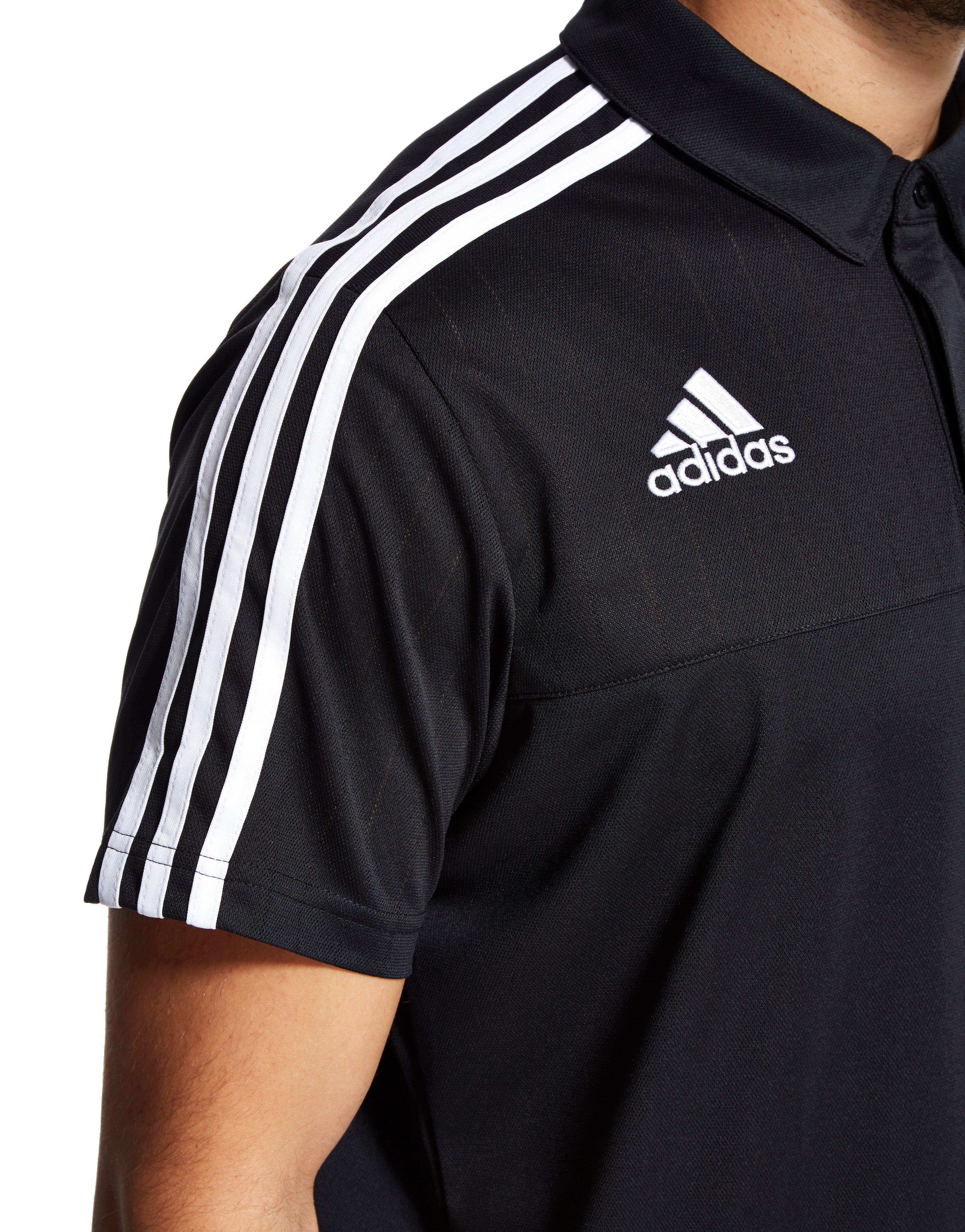 c5f8f968c4f adidas Northern Ireland Climalite Polo Shirt in Black for Men - Lyst