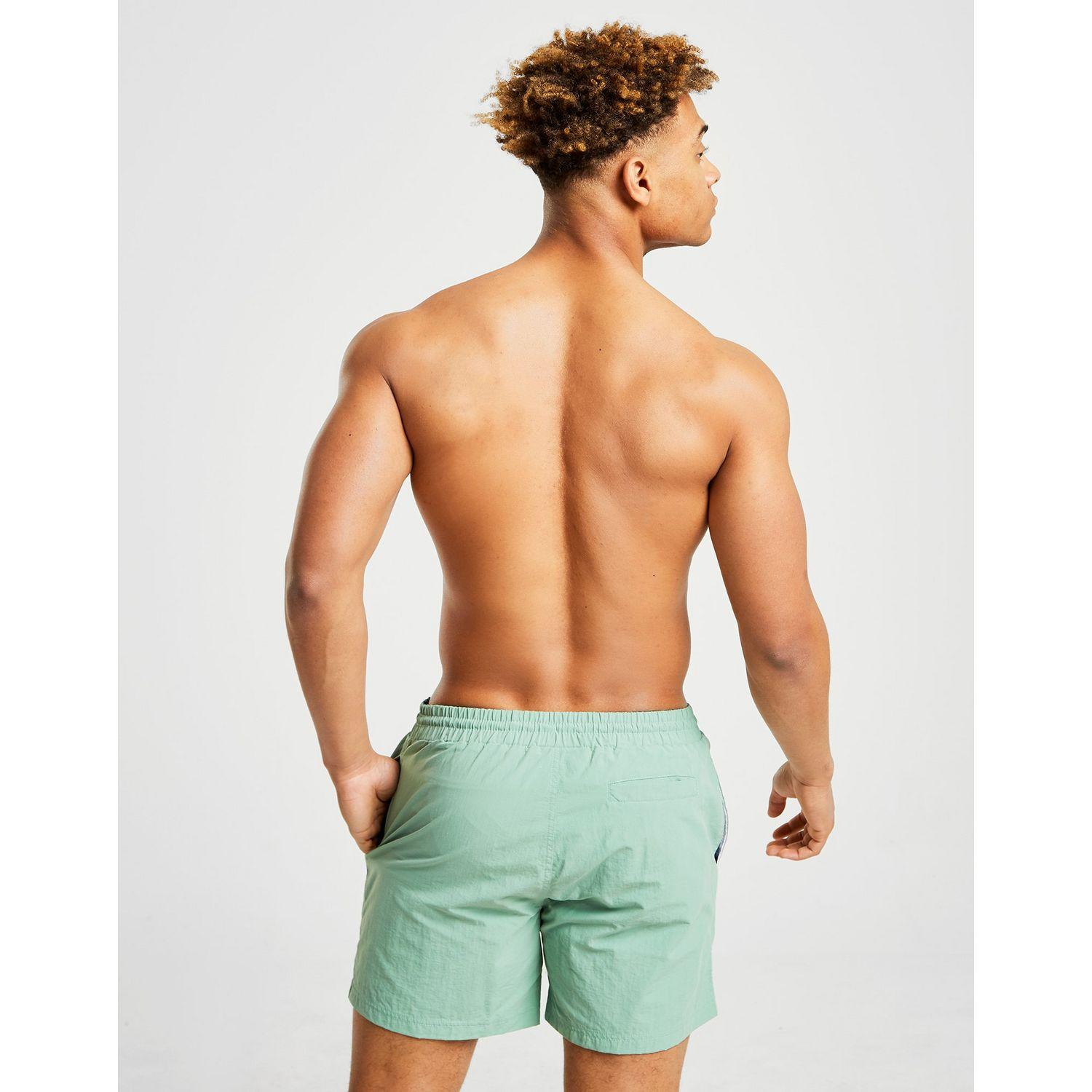 8da0e01c7c Fila - Green Martin Swim Shorts for Men - Lyst. View fullscreen