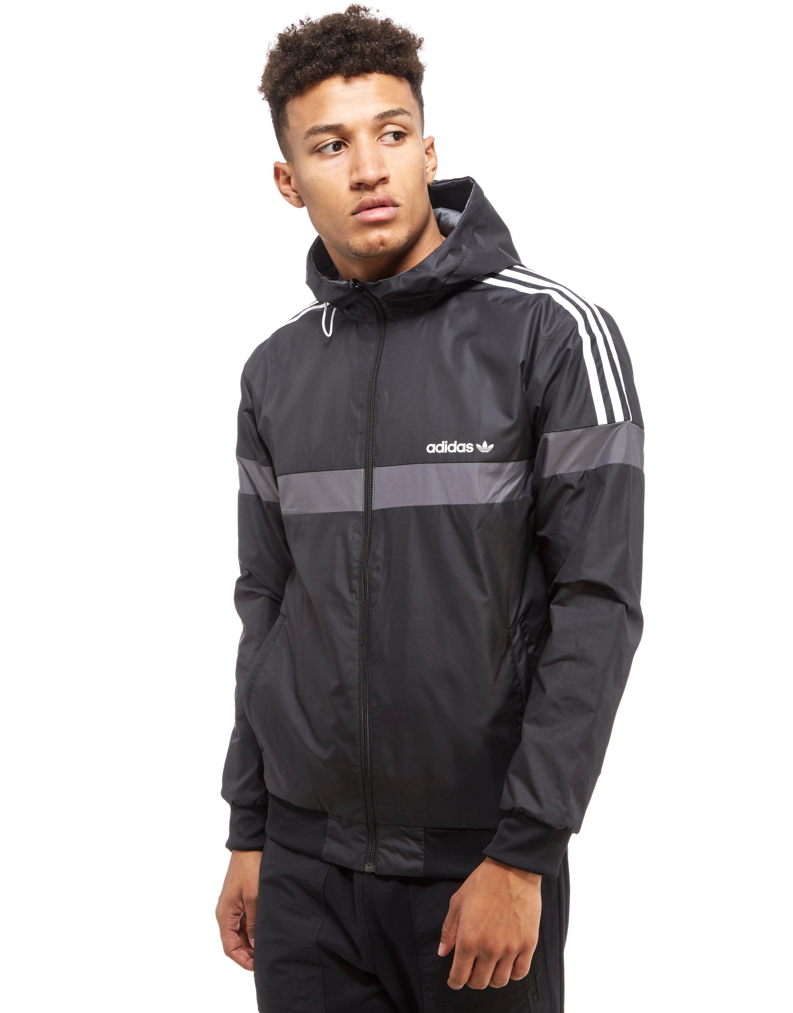 Adidas Originals Itasca Reversible Jacket In Gray For Men Lyst