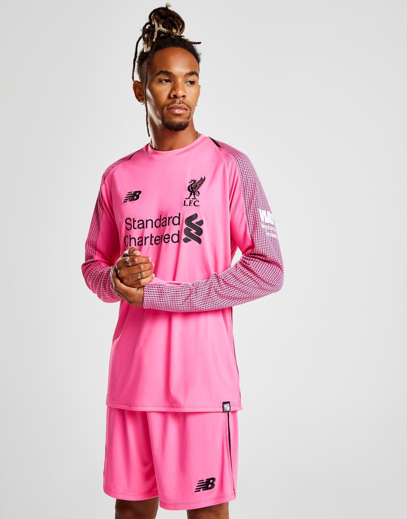 6e5b54e73 New Balance Liverpool Fc 2018 19 Third Goalkeeper Shirt in Pink for ...