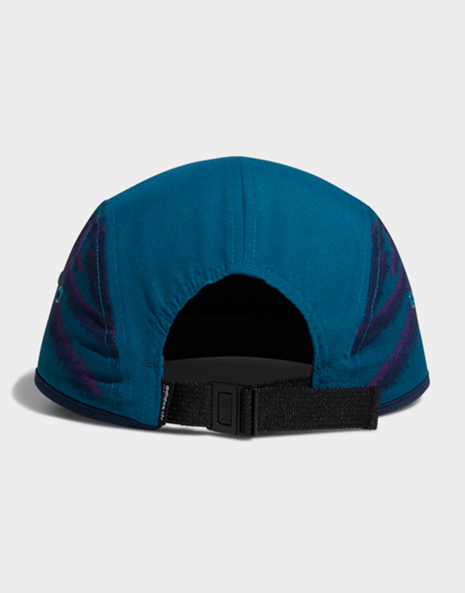 ab3849a6d7c Adidas Five-panel Court Cap in Blue - Lyst