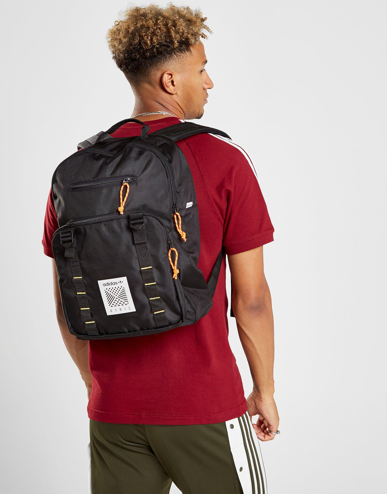 adidas Atric Backpack Small in Black for Men - Lyst 2b074108c6f0e