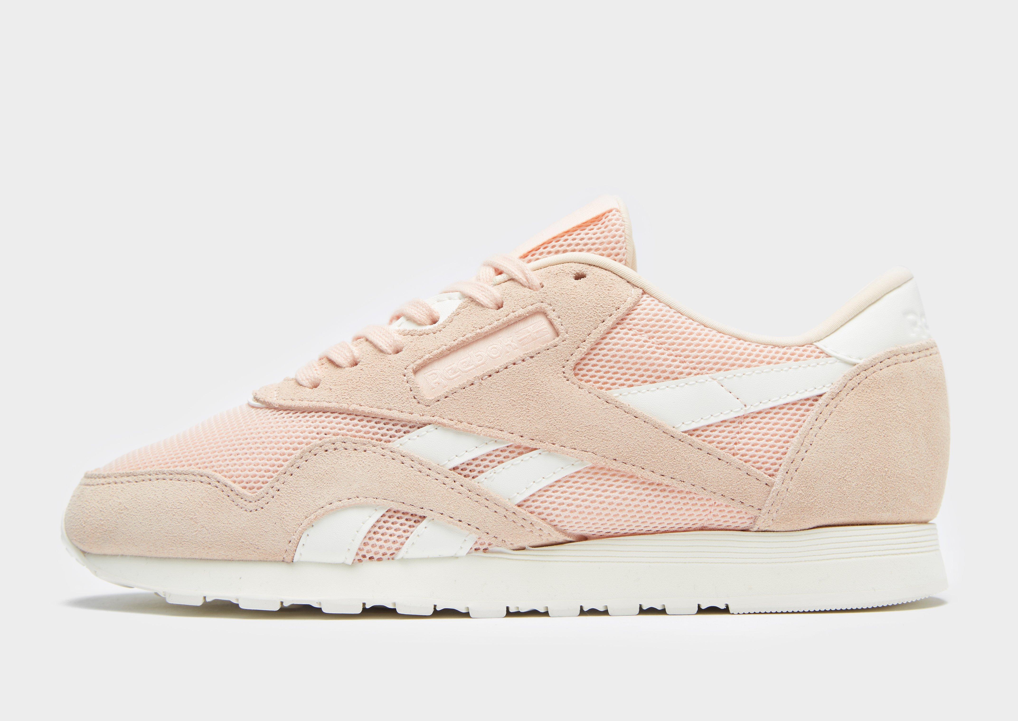 7ac90234360 Reebok Classic Nylon Mesh in Pink - Lyst