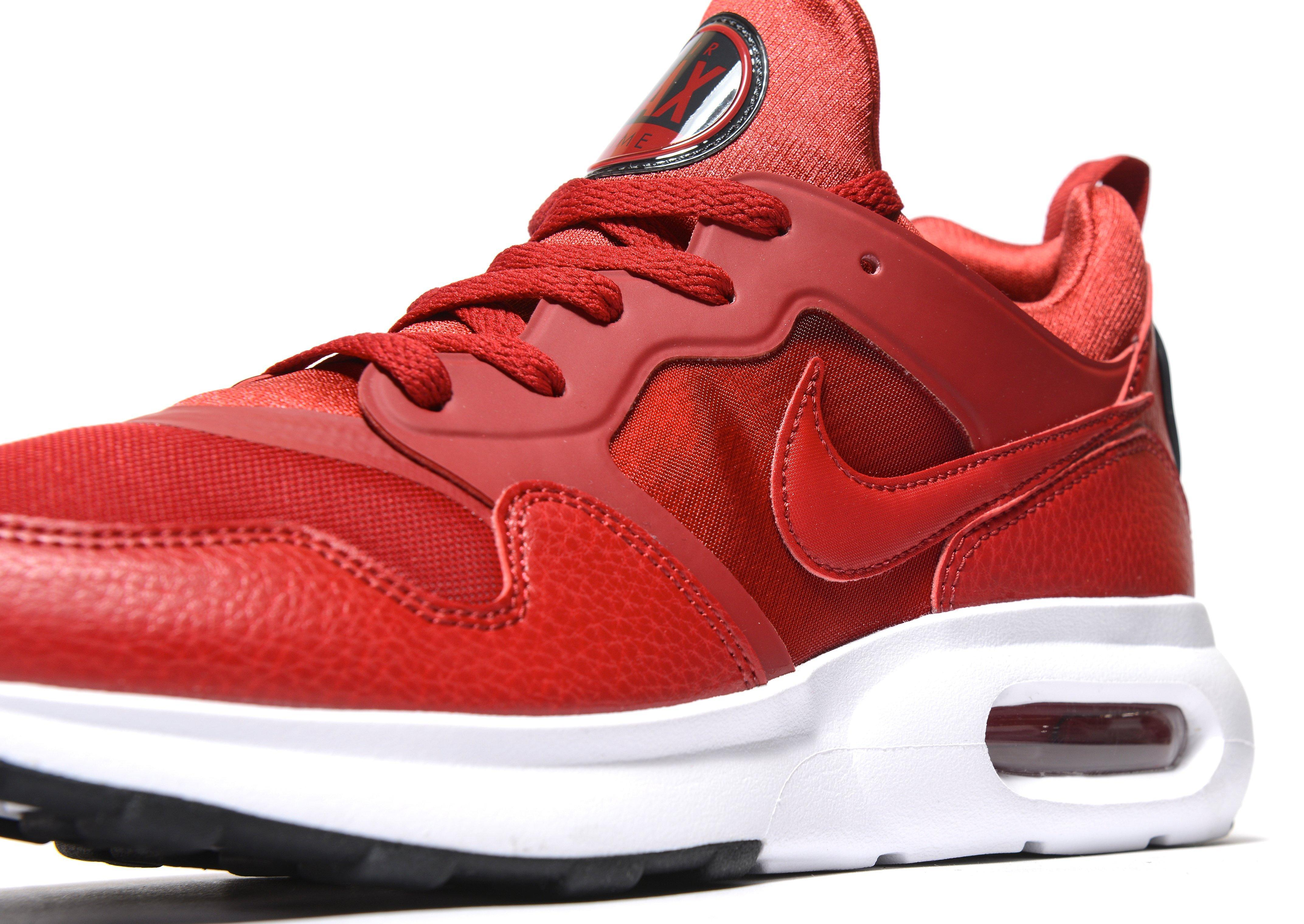 92c6232f ... get lyst nike air max prime in red for men 20f31 2c6e1