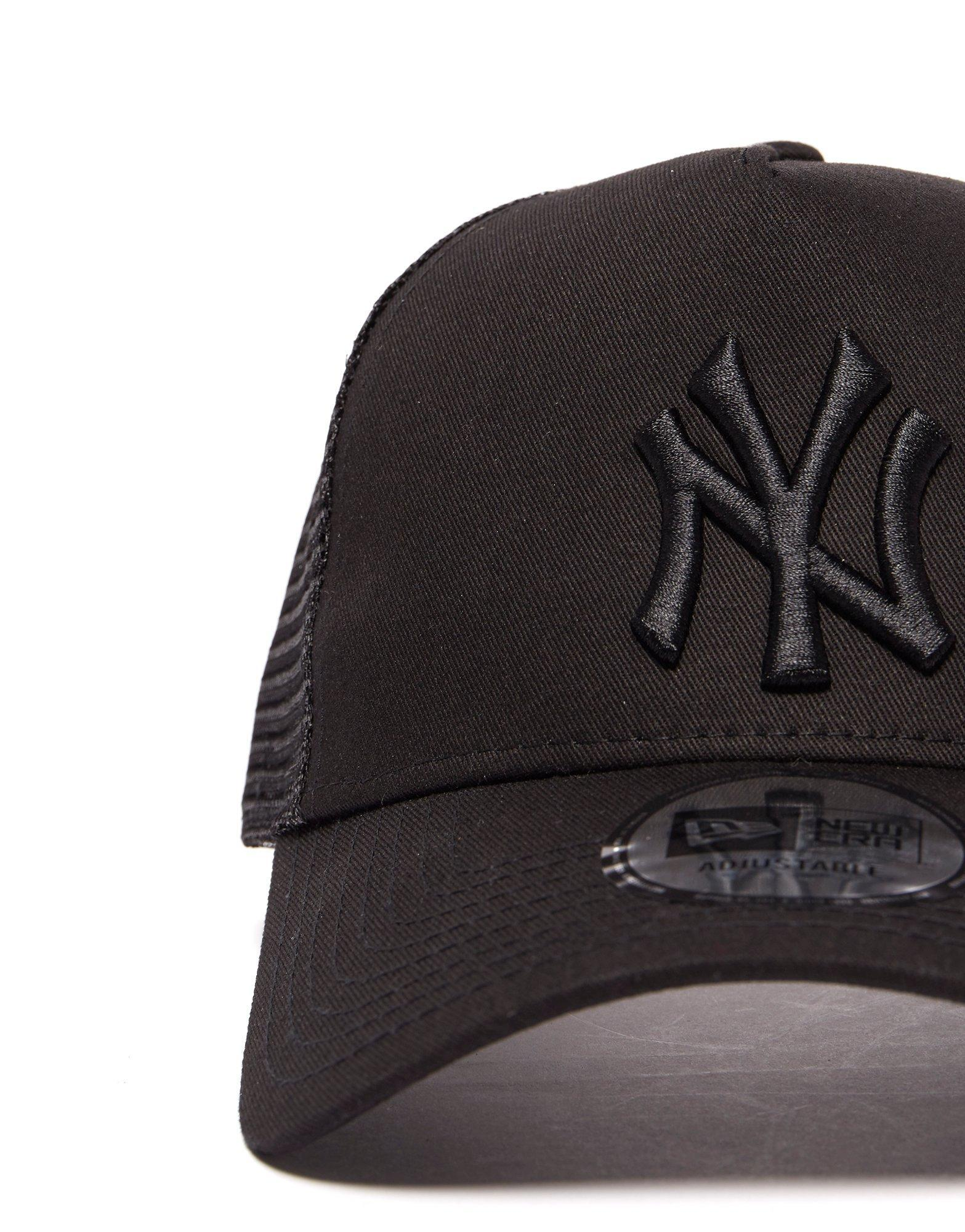 Ktz Mlb New York Yankees Snapback Trucker Cap in Black - Lyst d4d5b7efb82
