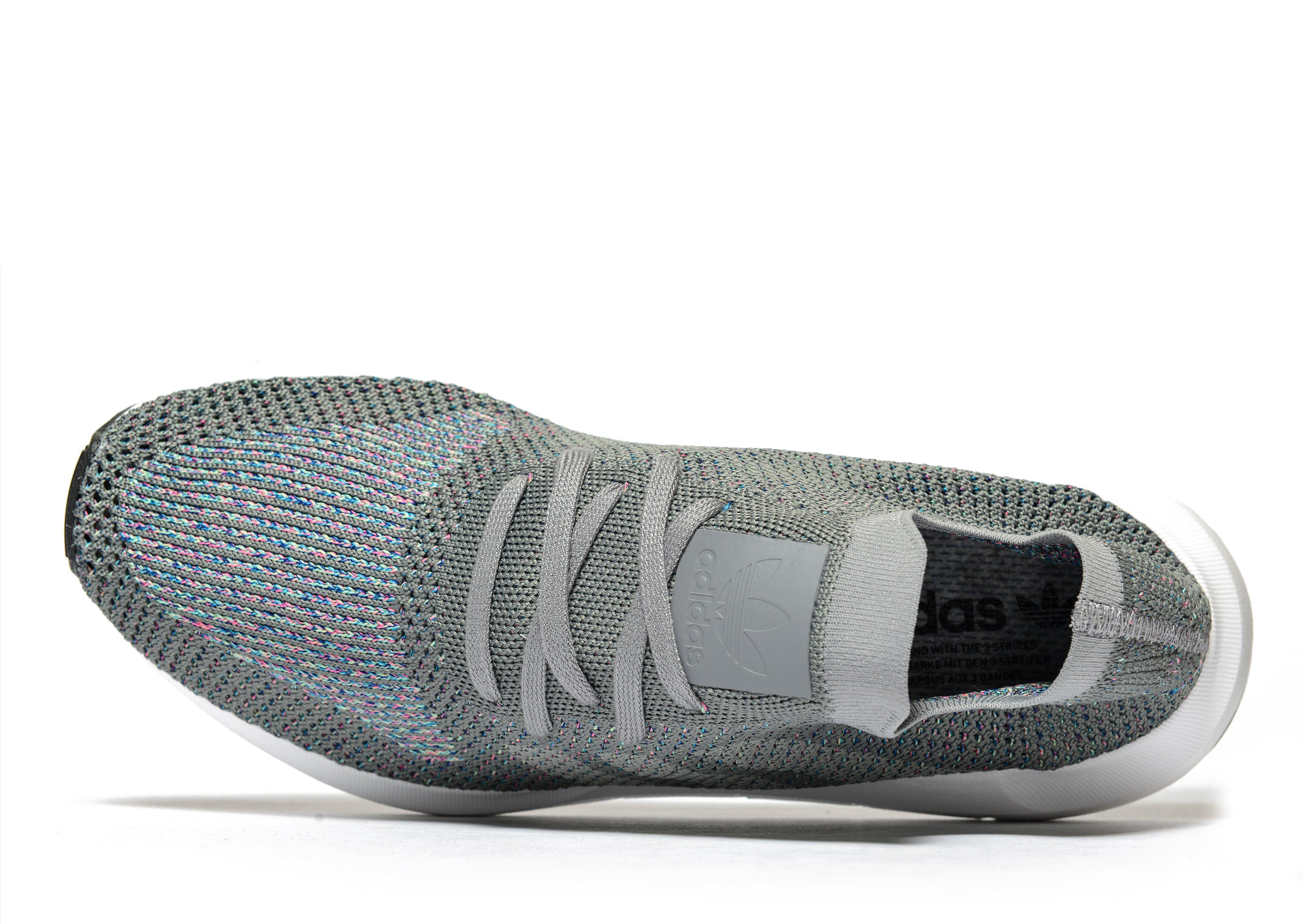 factory authentic ae8fc e710f Lyst - Adidas Originals Swift Run Primeknit in Gray for Men
