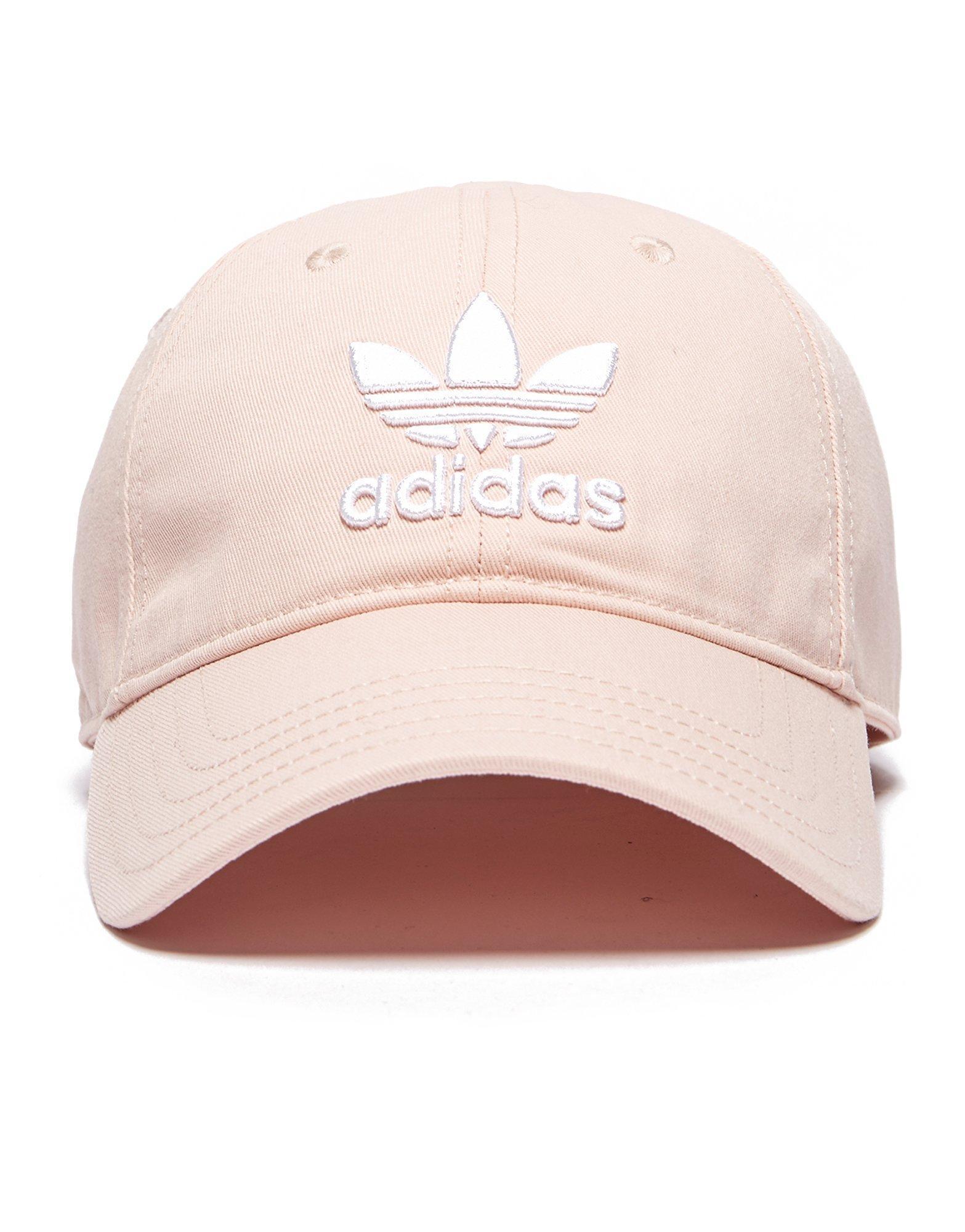 d7b82e75658 Lyst - adidas Originals Trefoil Classic Cap in Pink for Men