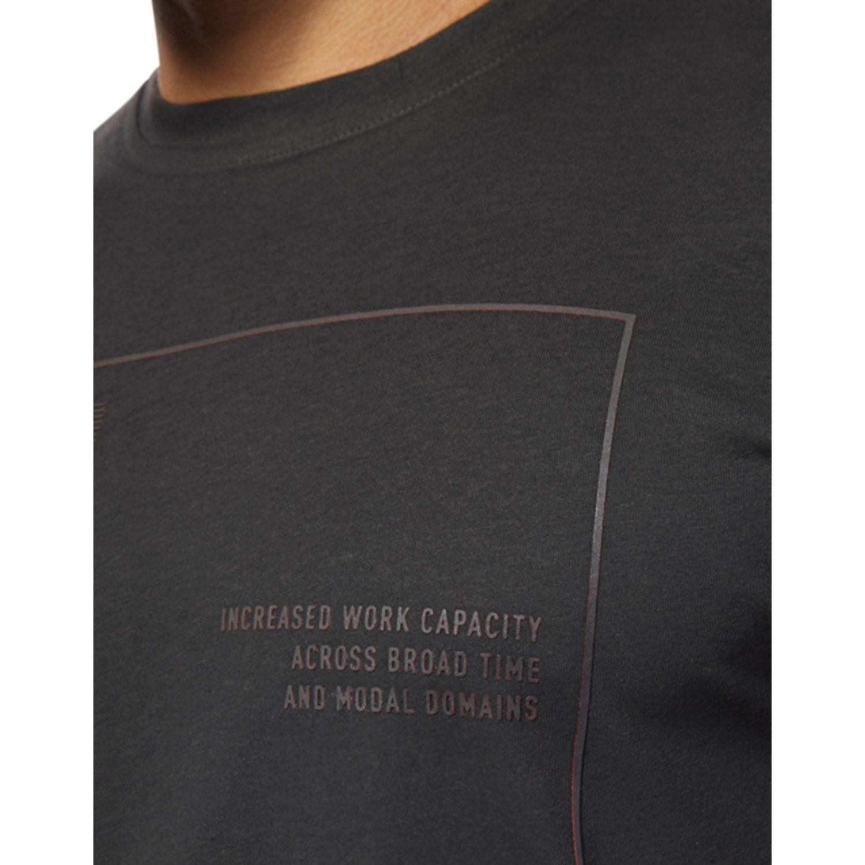 "Reebok CrossFit /""Reebok/"" Logo Dark Grey Tri-Blend Premium T-Shirt"
