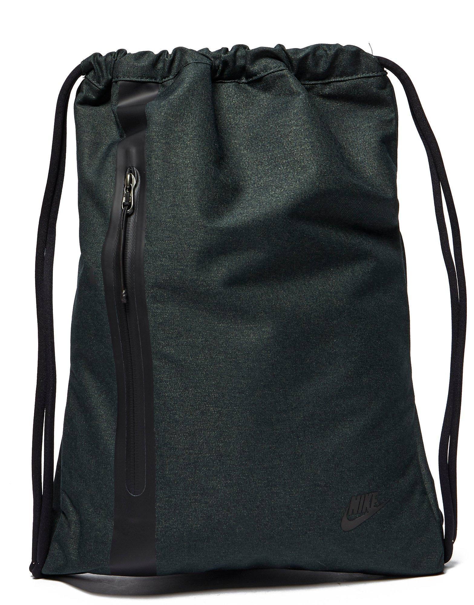 aa437f7091 Lyst - Nike Tech Gym Sack in Green for Men