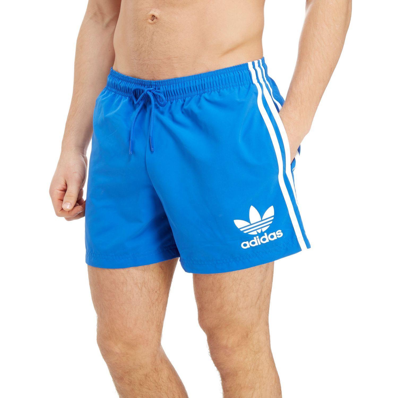 b76d91651f486 ... Adidas Originals - Blue California Swimshorts for Men - Lyst. Visit JD  Sports. Tap to visit site