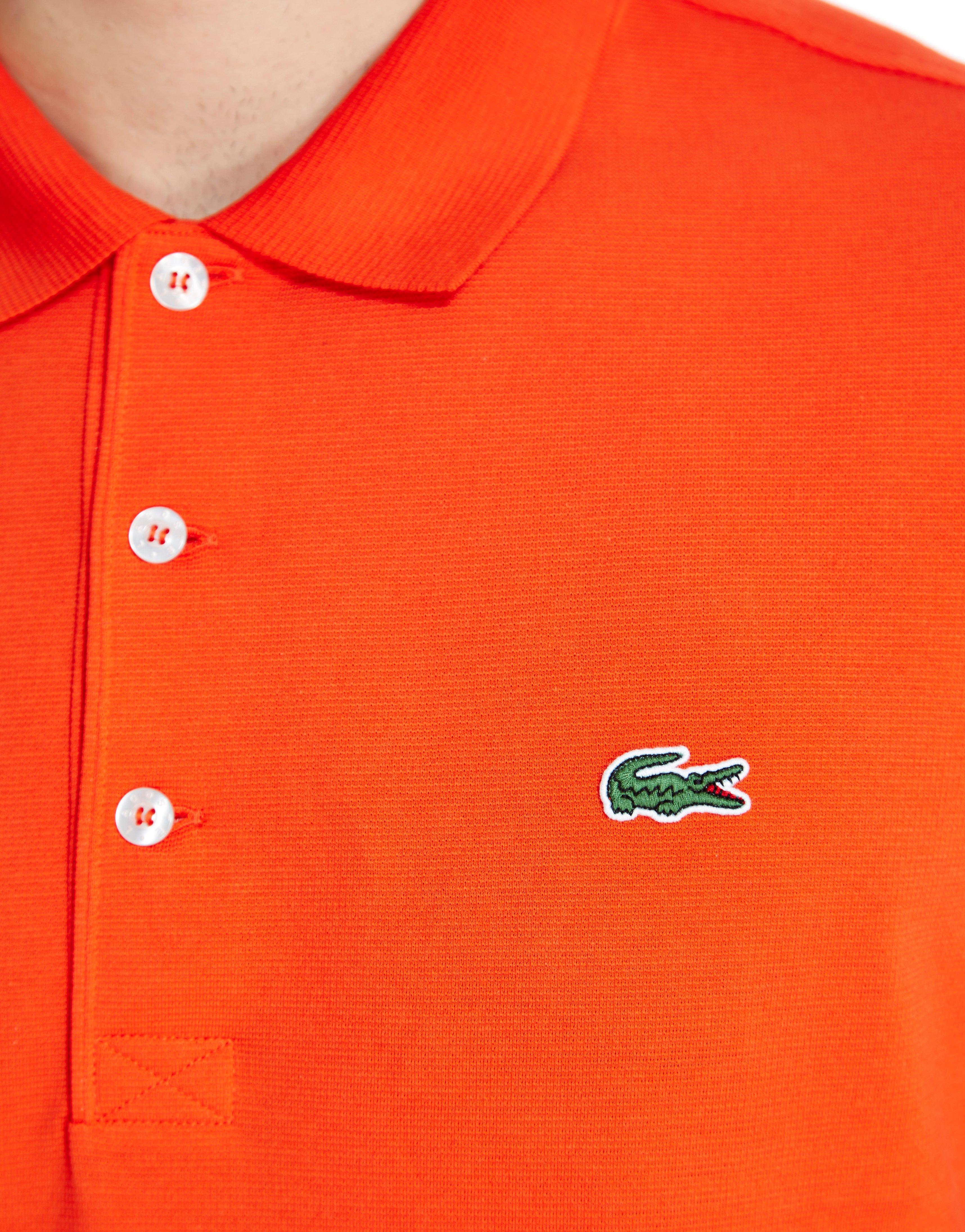 eea50a13e7 Lacoste Alligator Polo Shirt in Red for Men - Lyst