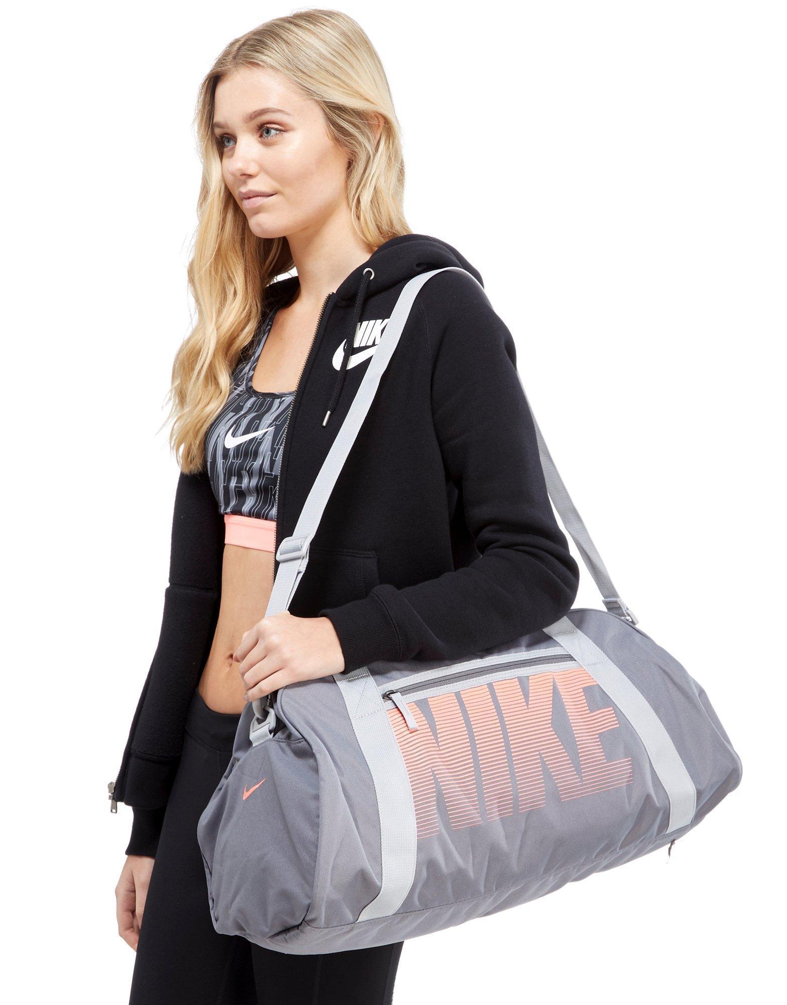 53971ed0cfb3 Lyst - Nike Gym Club Training Duffle Bag in Gray