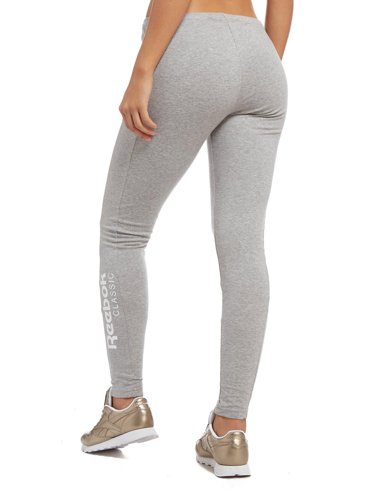 1335d3efa6224 Reebok Classic Leggings in Gray - Lyst