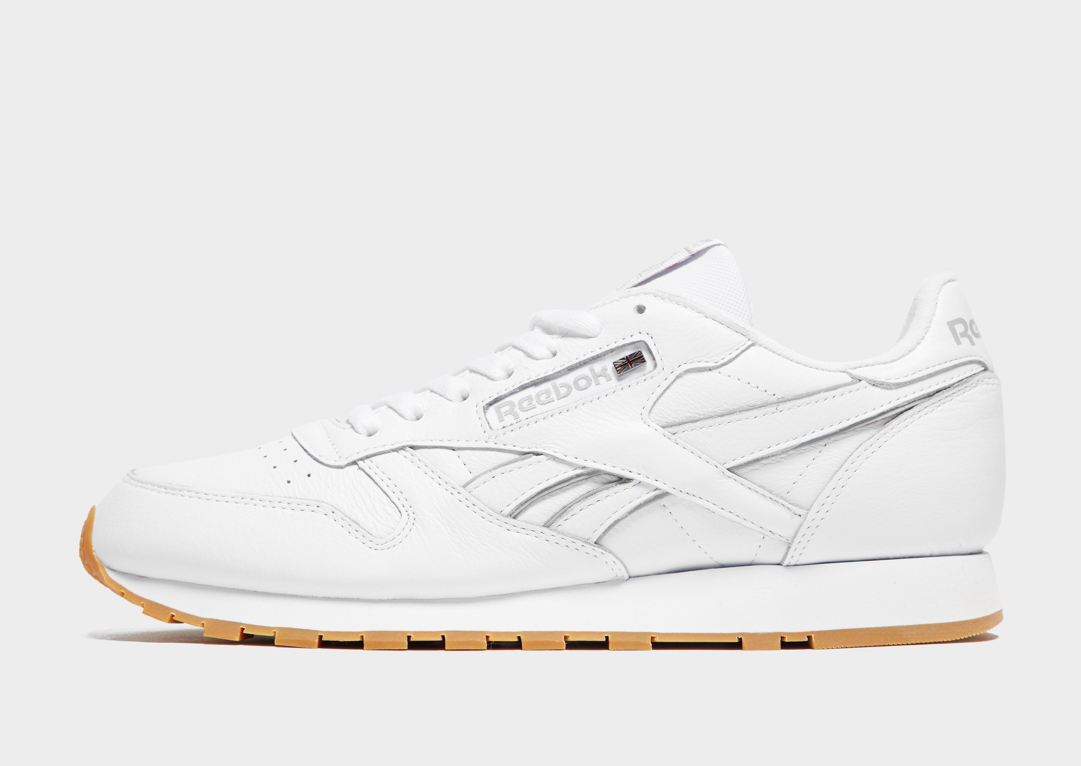c28b461855e Lyst - Reebok Classic Leather in White for Men