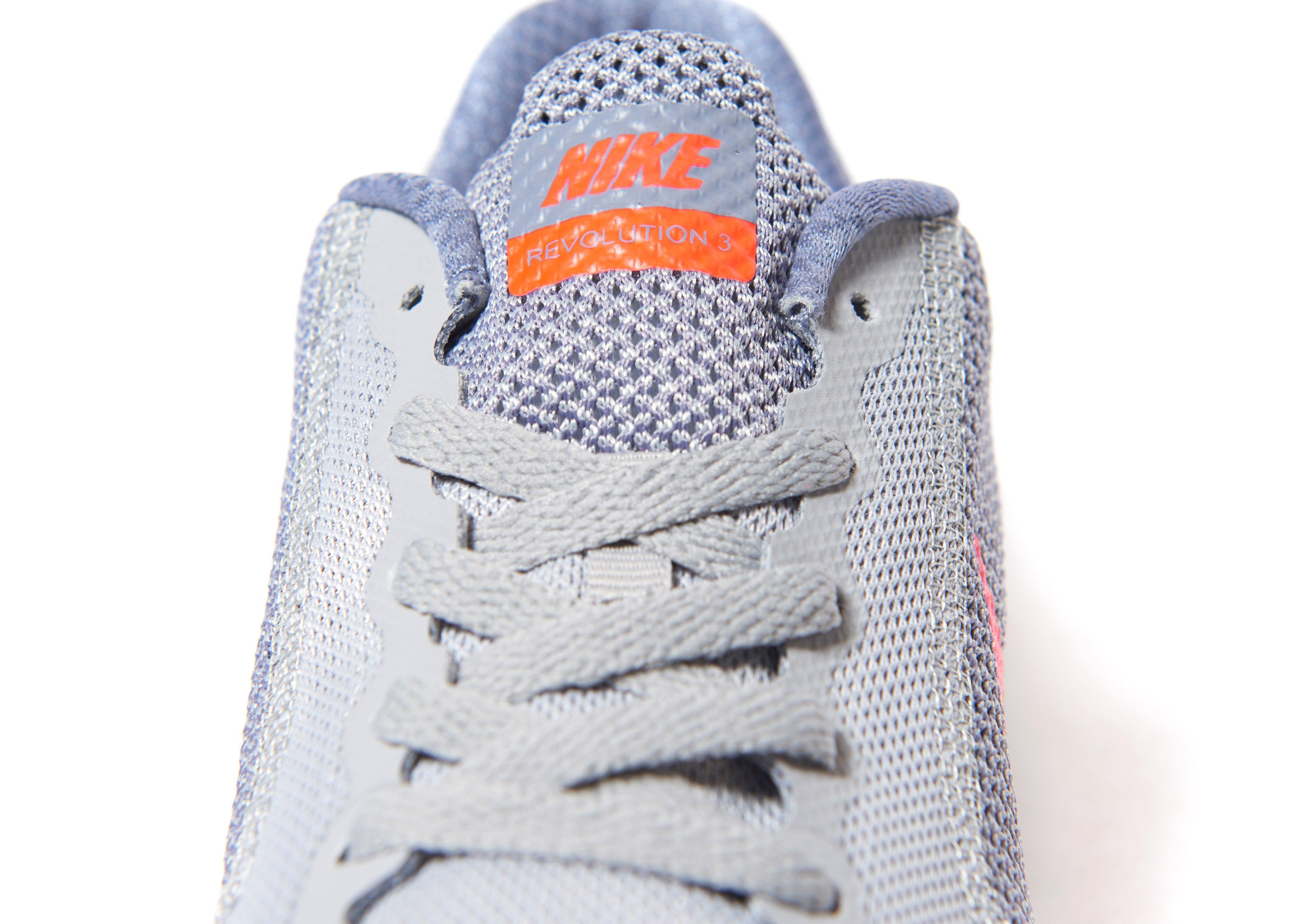 c4df5111f1 Nike Revolution 3 Junior in Gray for Men - Lyst
