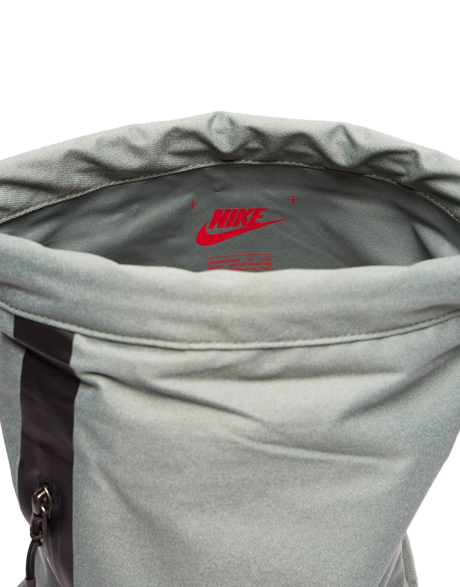 c816c3fdd7 Nike Tech Gymsack in Gray - Lyst