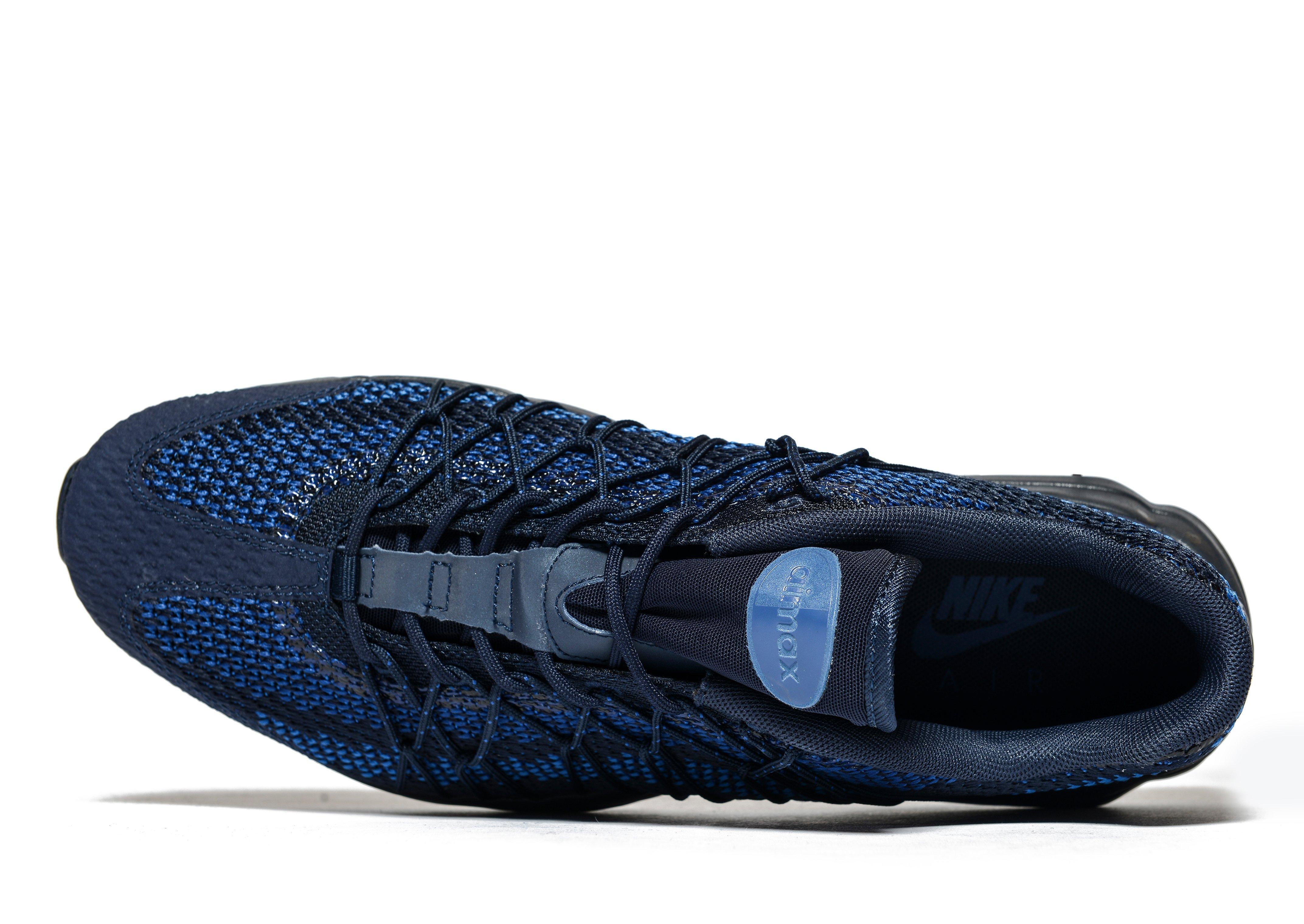 online store e9d06 86ec4 ... discount lyst nike air max 95 ultra jacquard in blue for men 30e4d 0db11