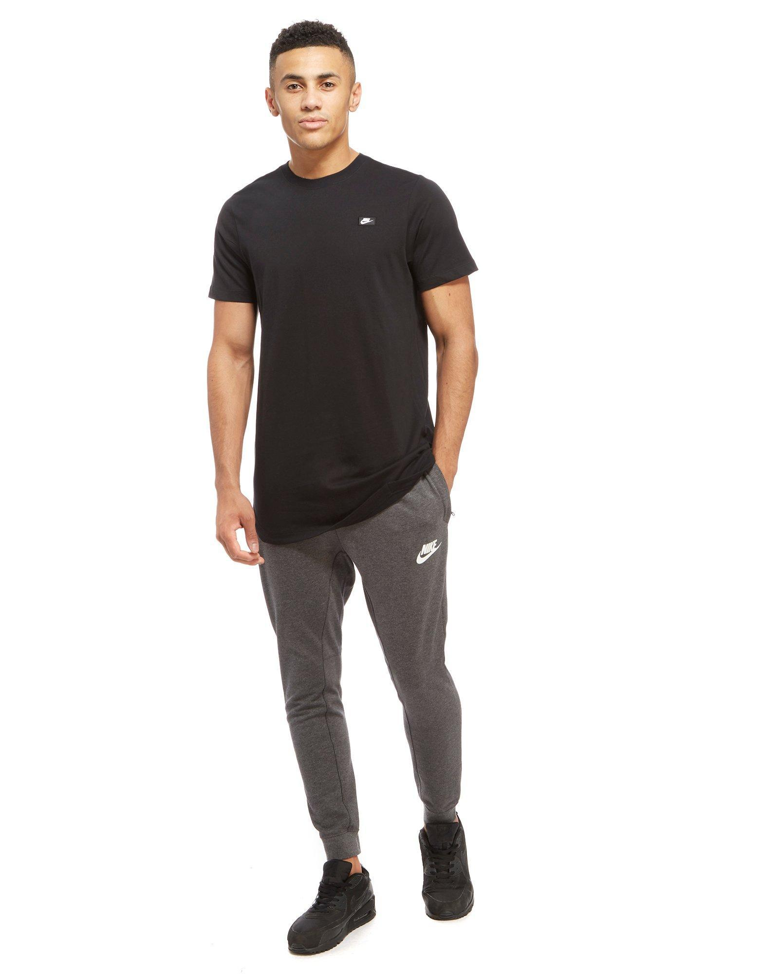 afb5cdd5 Nike Modern Long T-shirt in Black for Men - Lyst