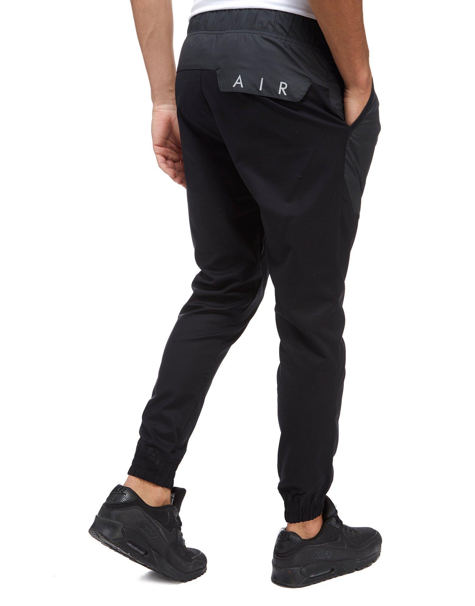 616d41ffcf87e Nike Air Hybrid Jogging Pants in Black for Men - Lyst