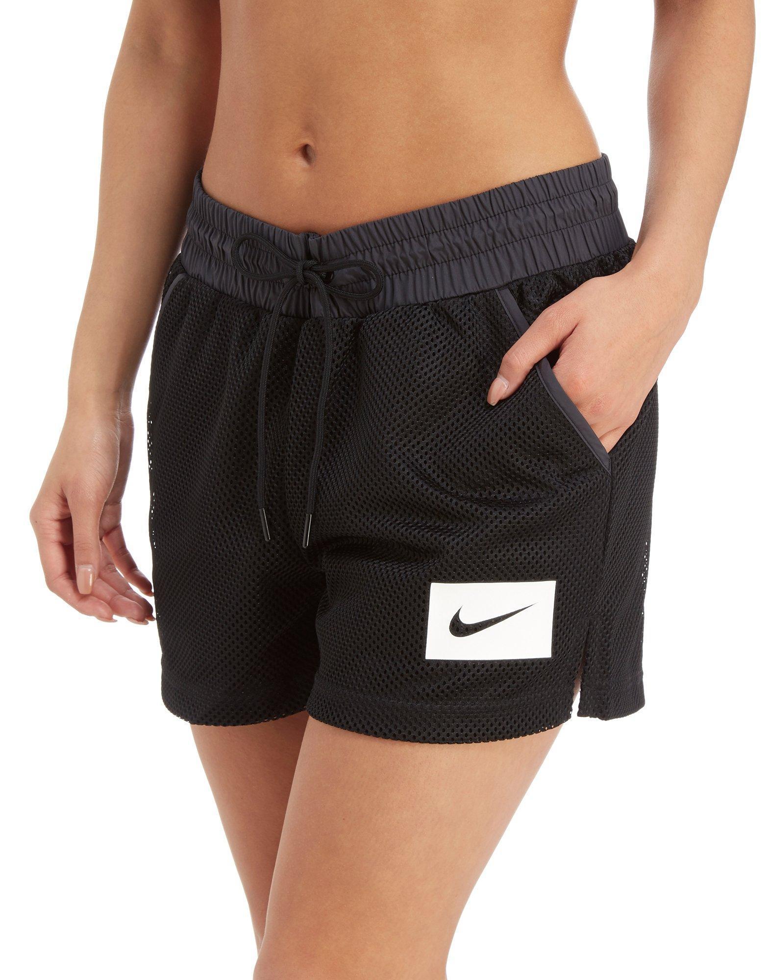 e7ea25830acd8 Nike. Women s Black Swoosh Mesh Shorts.  50  30 From JD Sports