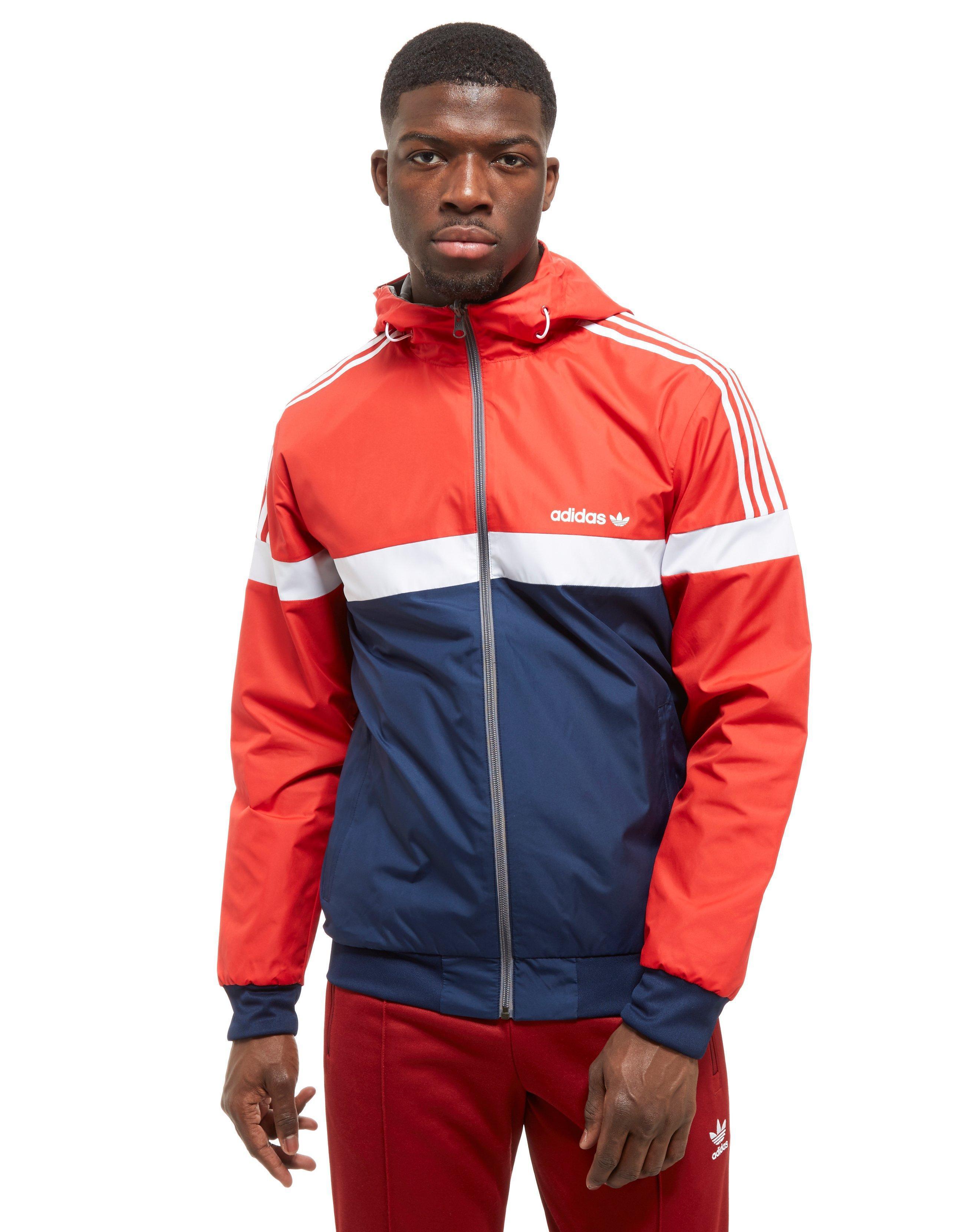 5c35f16f26a9 adidas Originals Itaska Reversible Jacket in Red for Men - Lyst