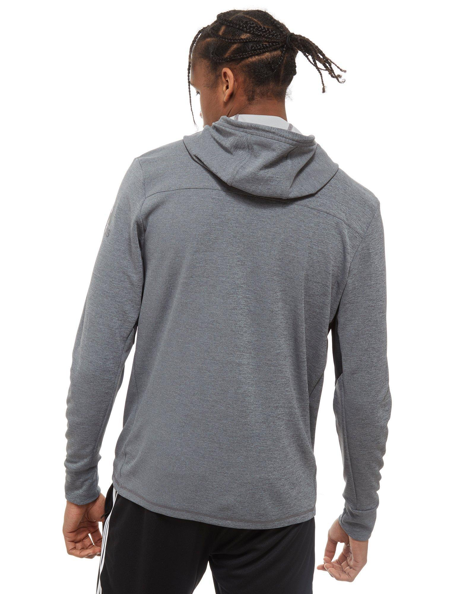 Men Climacool In Lyst Full Gray Adidas Hoodie Zip For dw0xSq