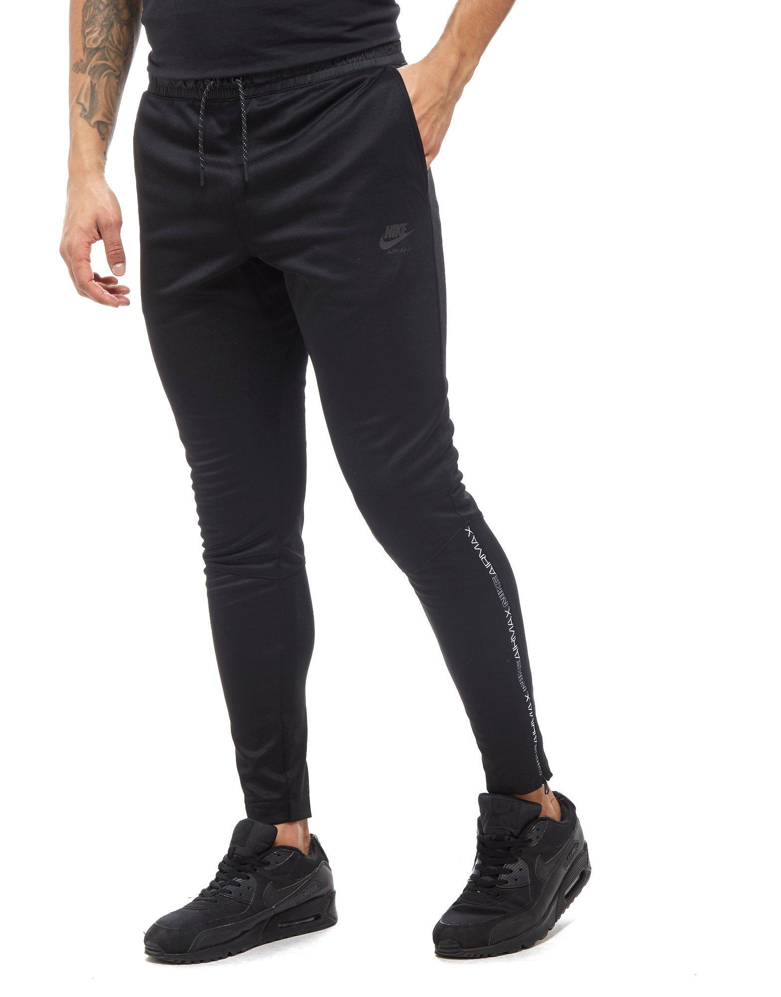 605ce5e13022 Lyst - Nike Air Max Poly Track Pants in Black for Men