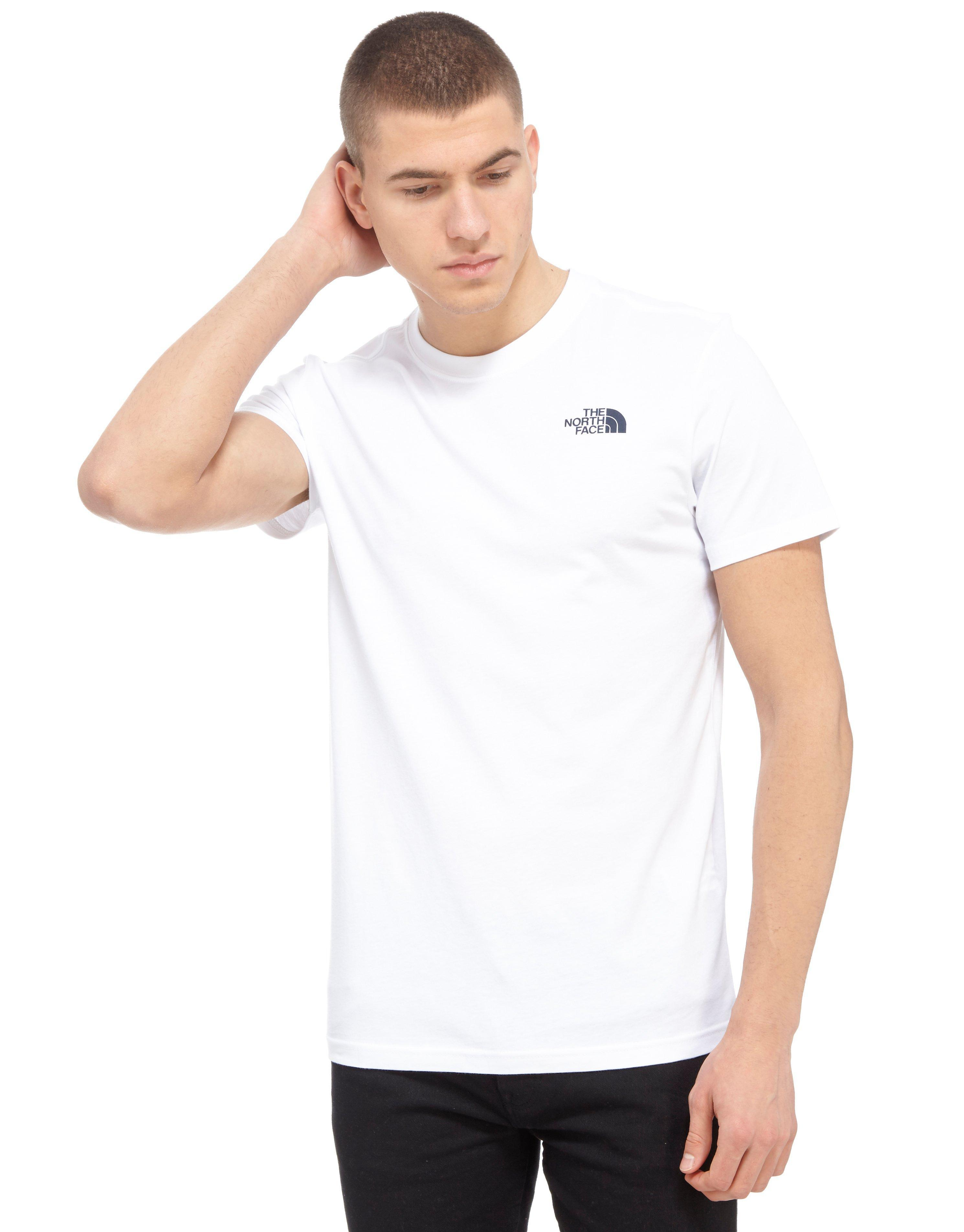 30b20145f The North Face Redbox Celebration T-shirt in White for Men - Lyst