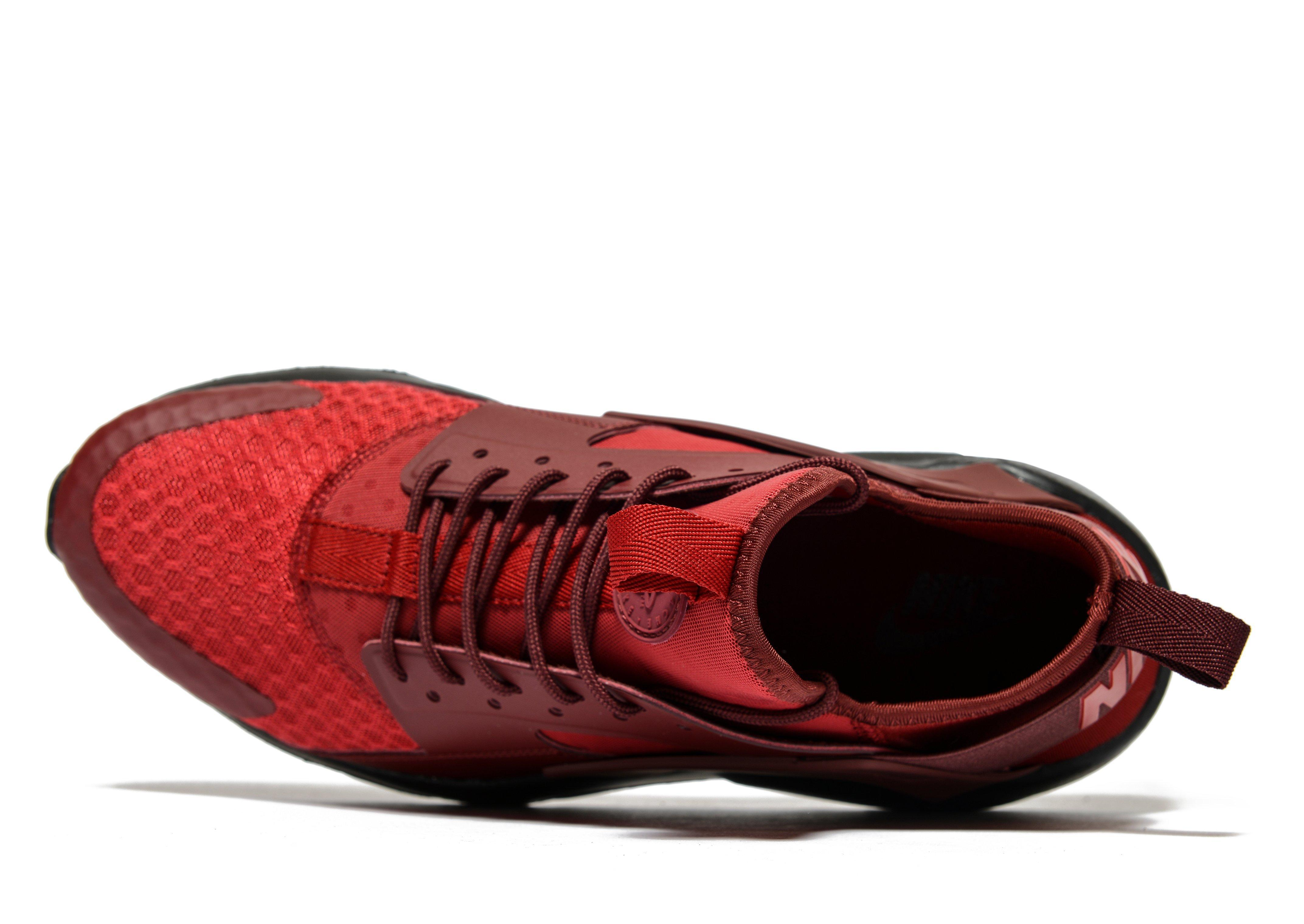 various colors 0454d c4990 ... hot nike huarache ultra in red for men lyst 6993a 87665
