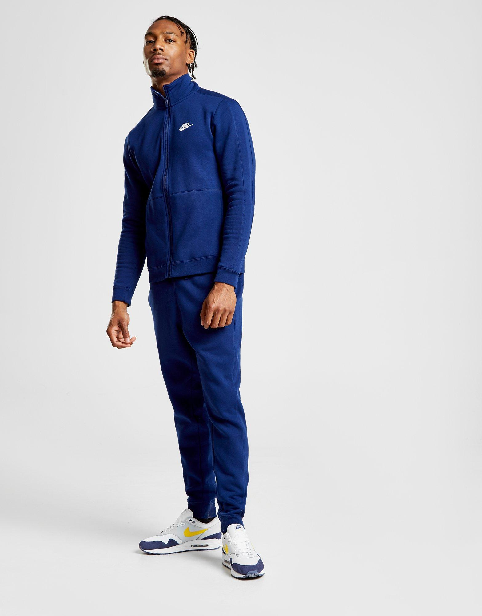 dbca693551d6 Nike League Fleece Tracksuit in Blue for Men - Lyst