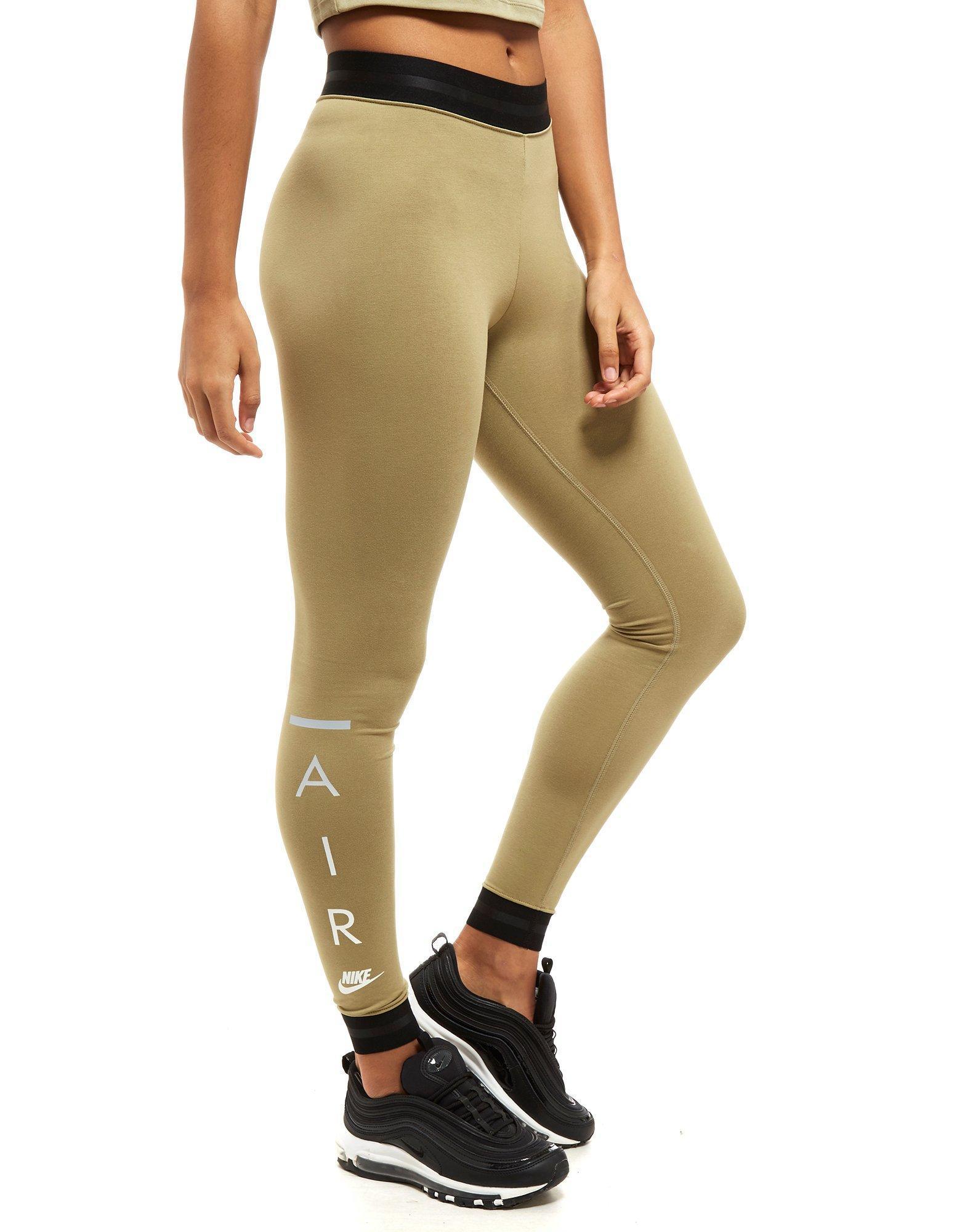 e4a1320cf1b83 Nike Air High Waist Leggings in Natural - Lyst