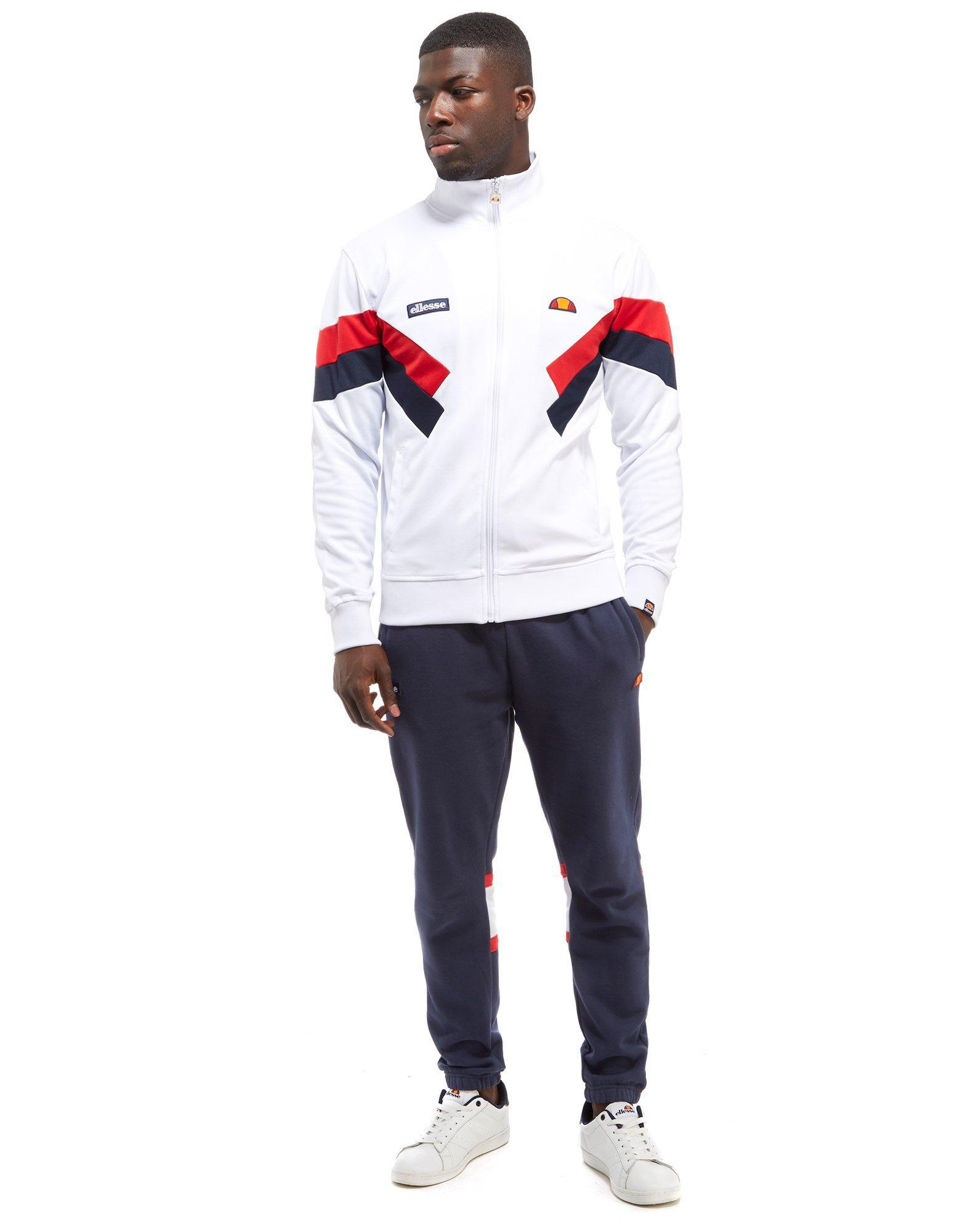 Ellesse Chierroni Track Top in White for Men Lyst