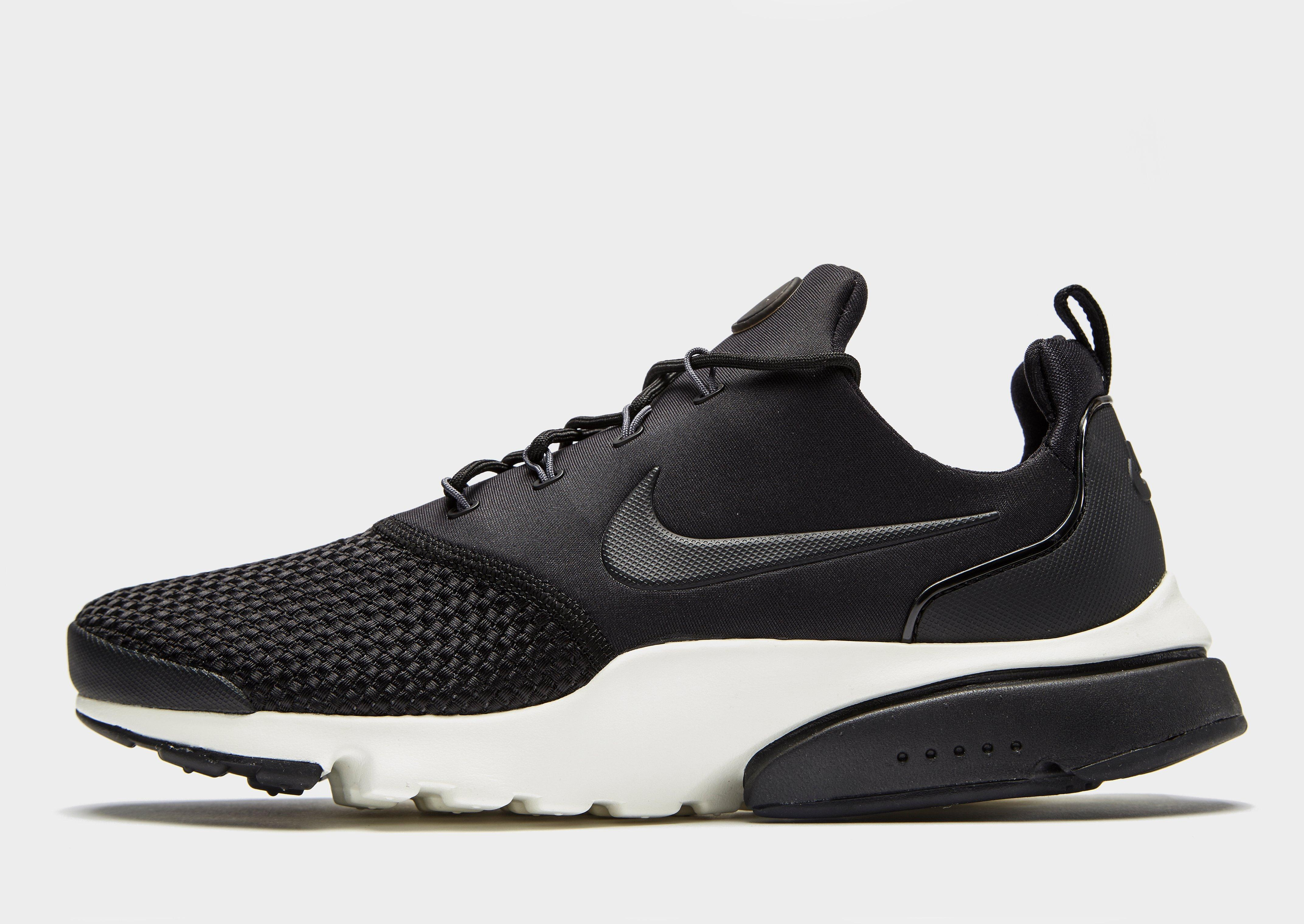... good lyst nike air presto fly in black for men d7b32 d106b 2ca6abbcd