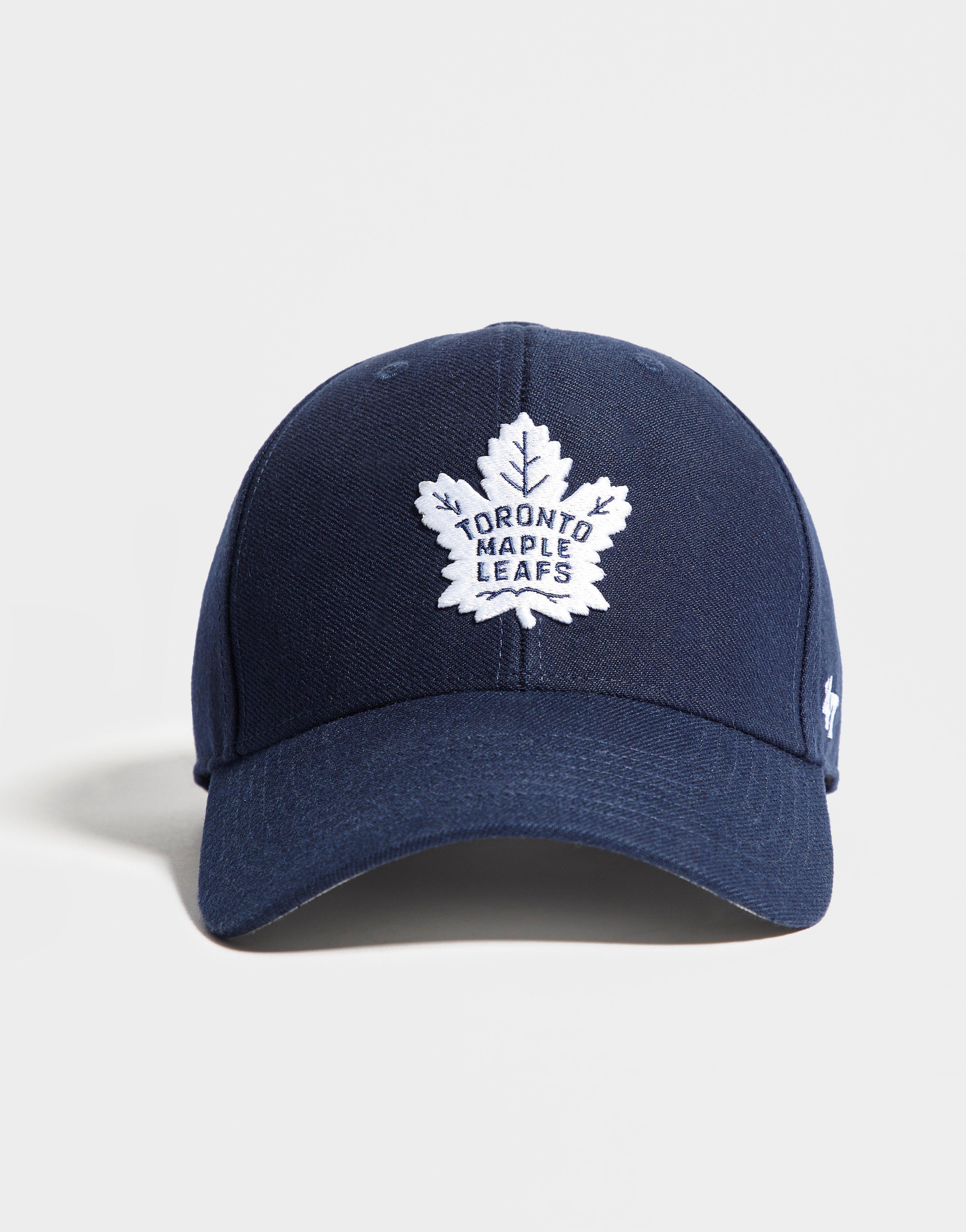 2eddb1e019e653 ... italy 47 brand nhl toronto maple leafs mvp cap in blue for men lyst  6a033 8e5d4