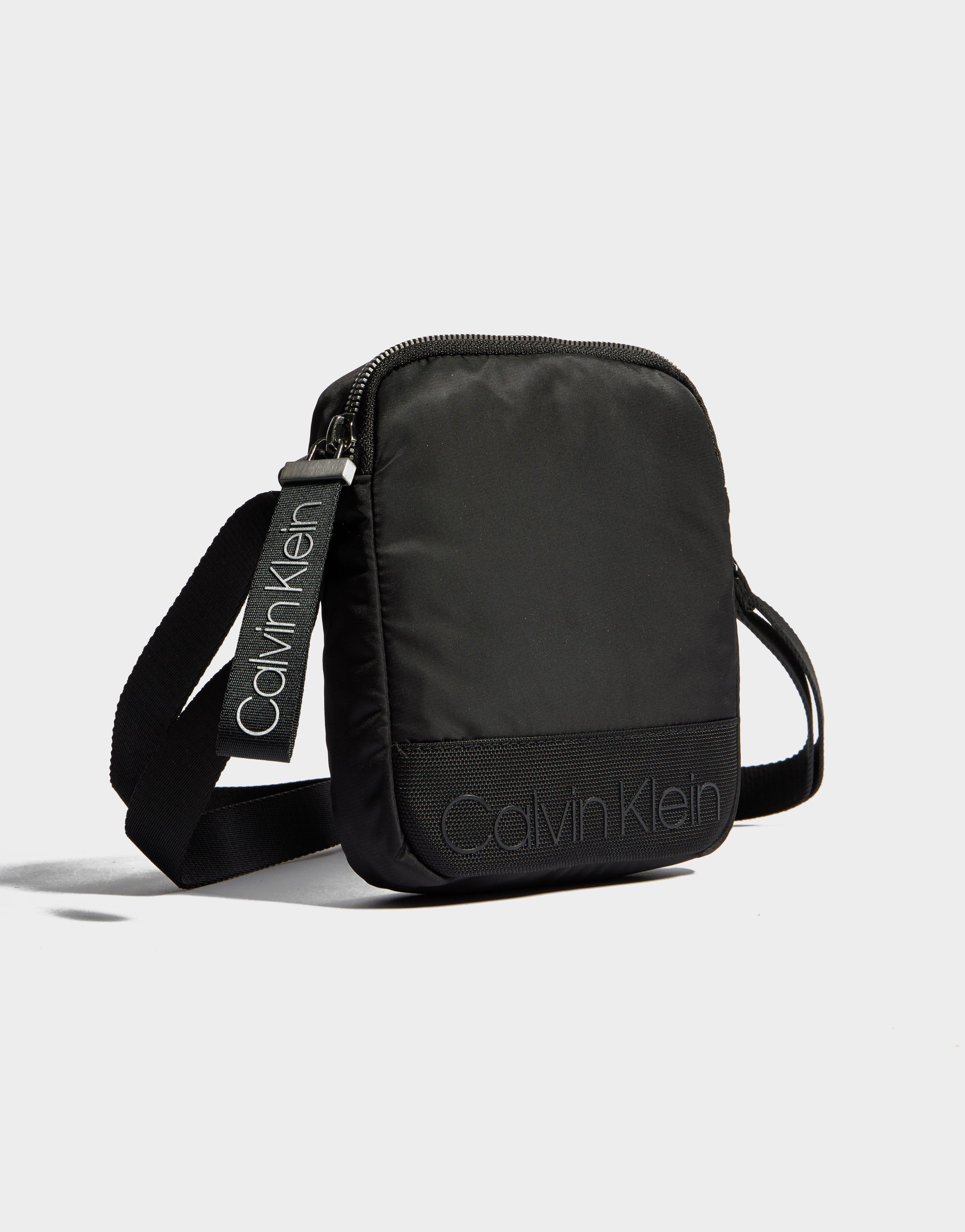 4ab0b8b450 Calvin Klein Mini Crossbody Bag in Black for Men - Lyst