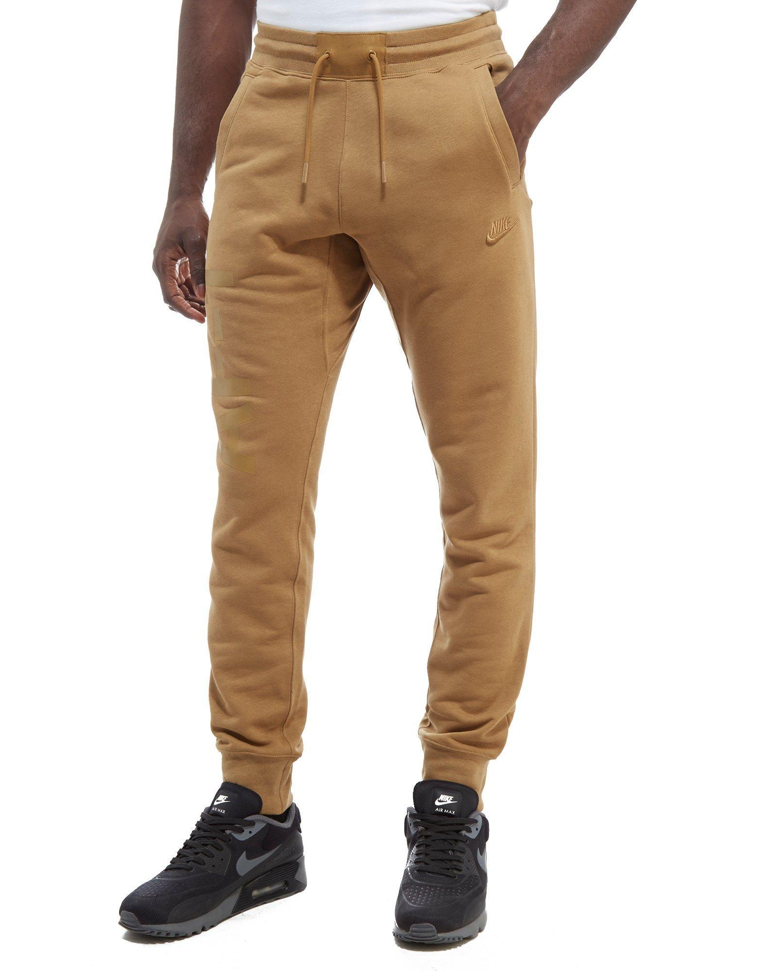 info for d3f2e 86336 Lyst - Nike Air Force One Joggers in Natural for Men