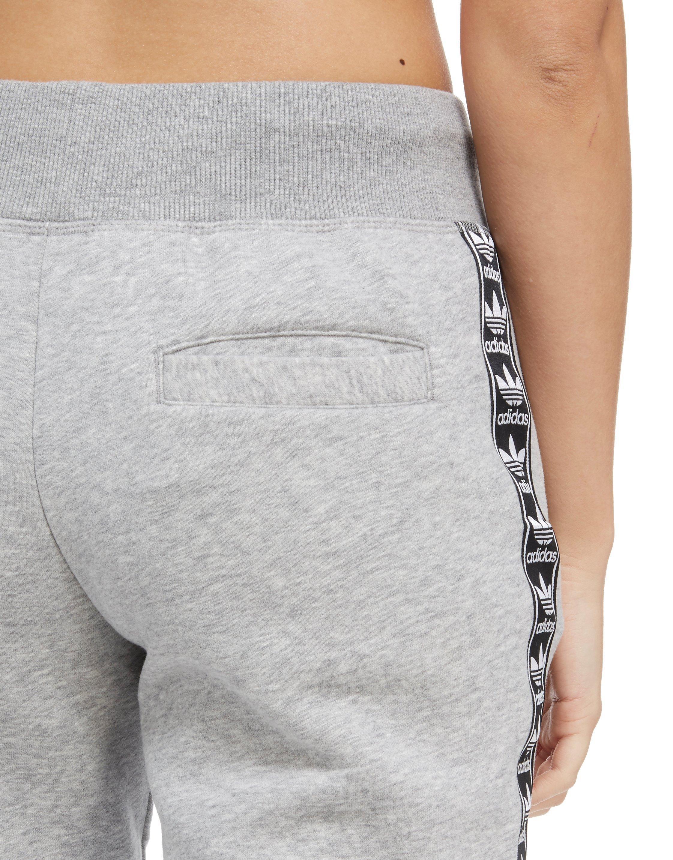 adidas Originals Tape Fleece Pants in Gray - Lyst c64b5872e920