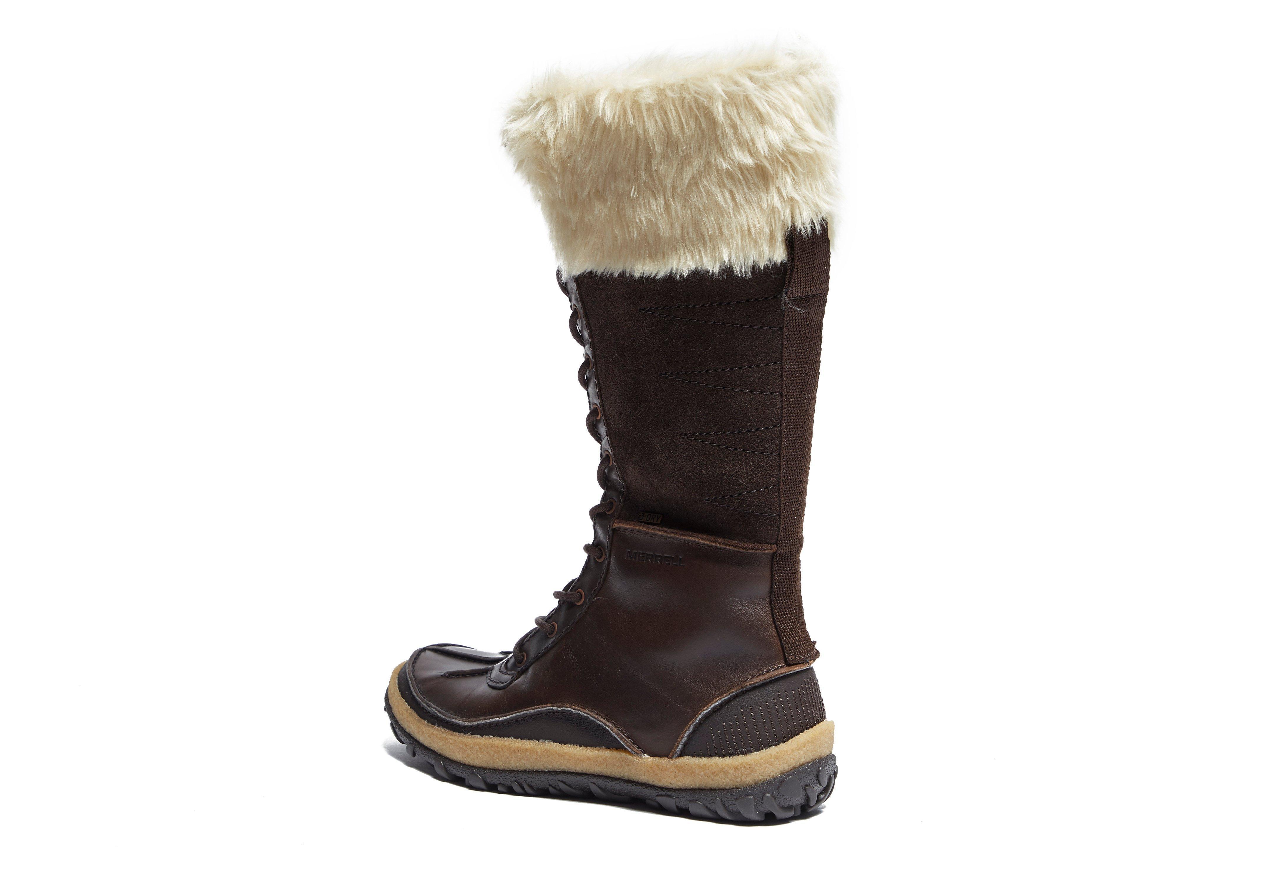 a1a7fddf916 Lyst - Merrell Tremblant Tall Polar Waterproof Women s in Brown