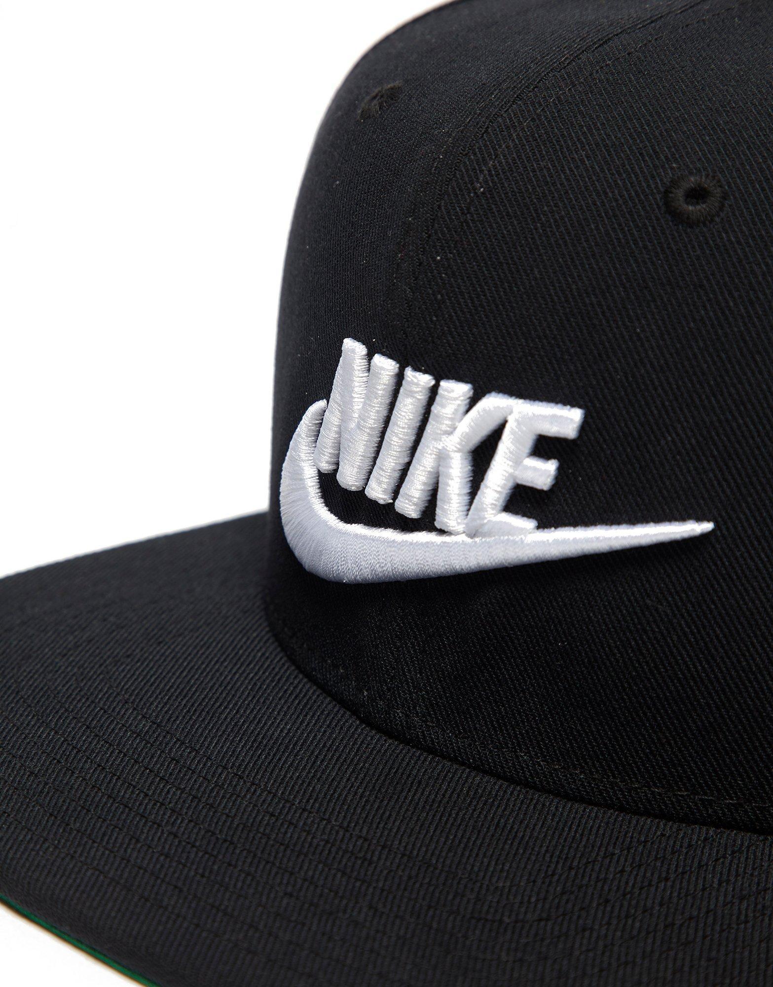 new style 504fb 3e71f ... purchase lyst nike futura true 2 snapback cap in black 28e69 8d01c