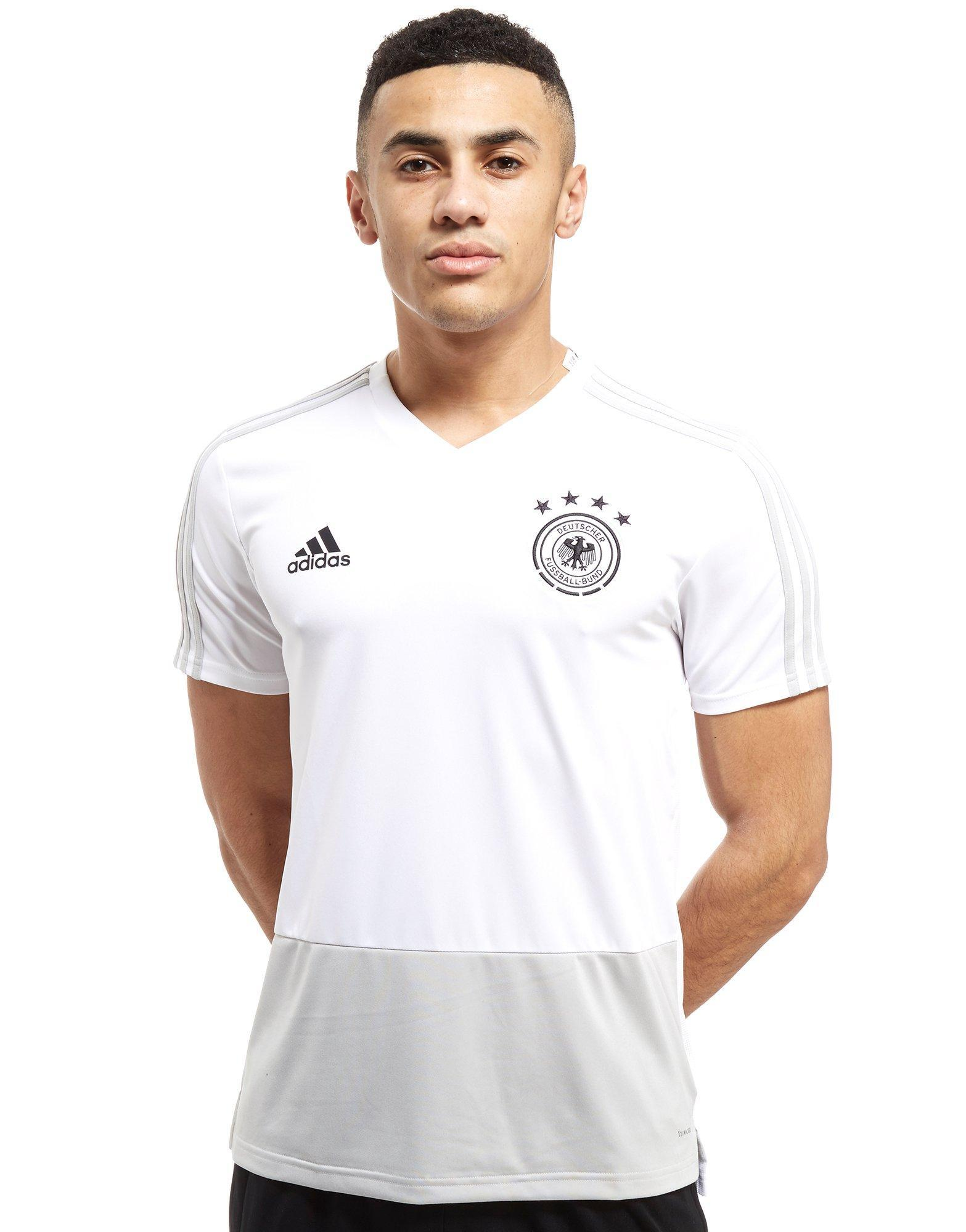 c3c09ea7b adidas Germany 2018 Training Jersey in White for Men - Lyst