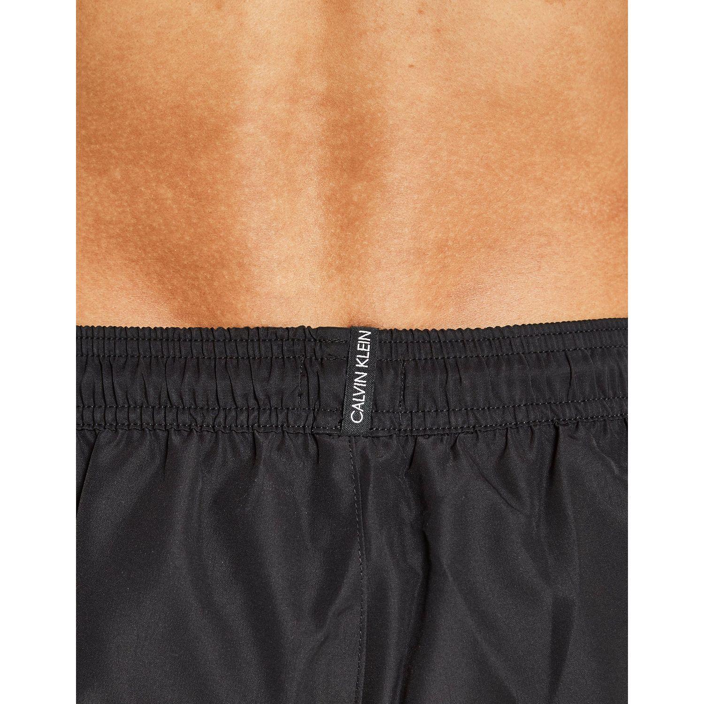 9778c5ad37 Lyst Calvin Klein Diagonal Tape Medium Swim Shorts In Brown For Men