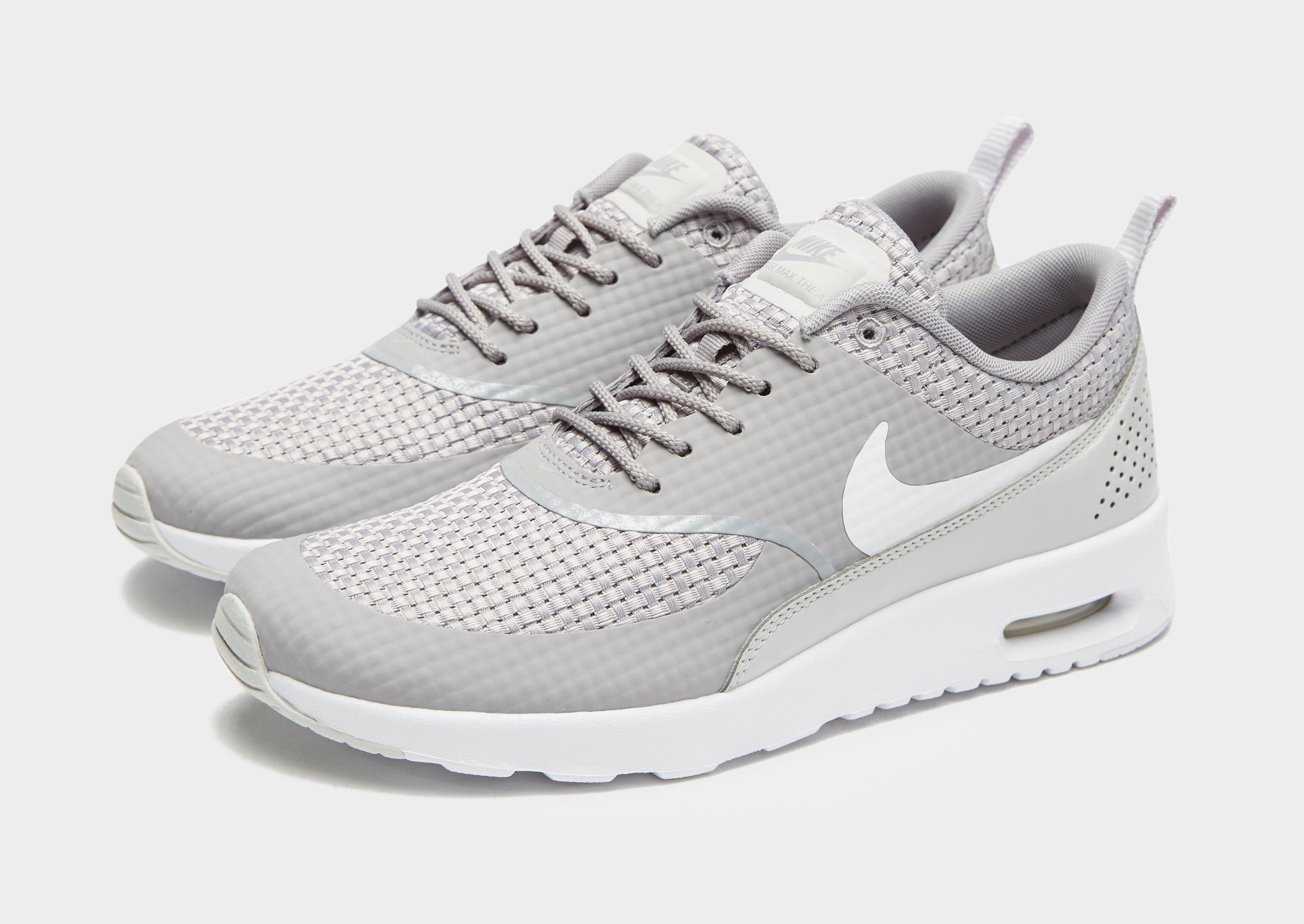 806b001a5b Lyst - Nike Air Max Thea Woven in Gray