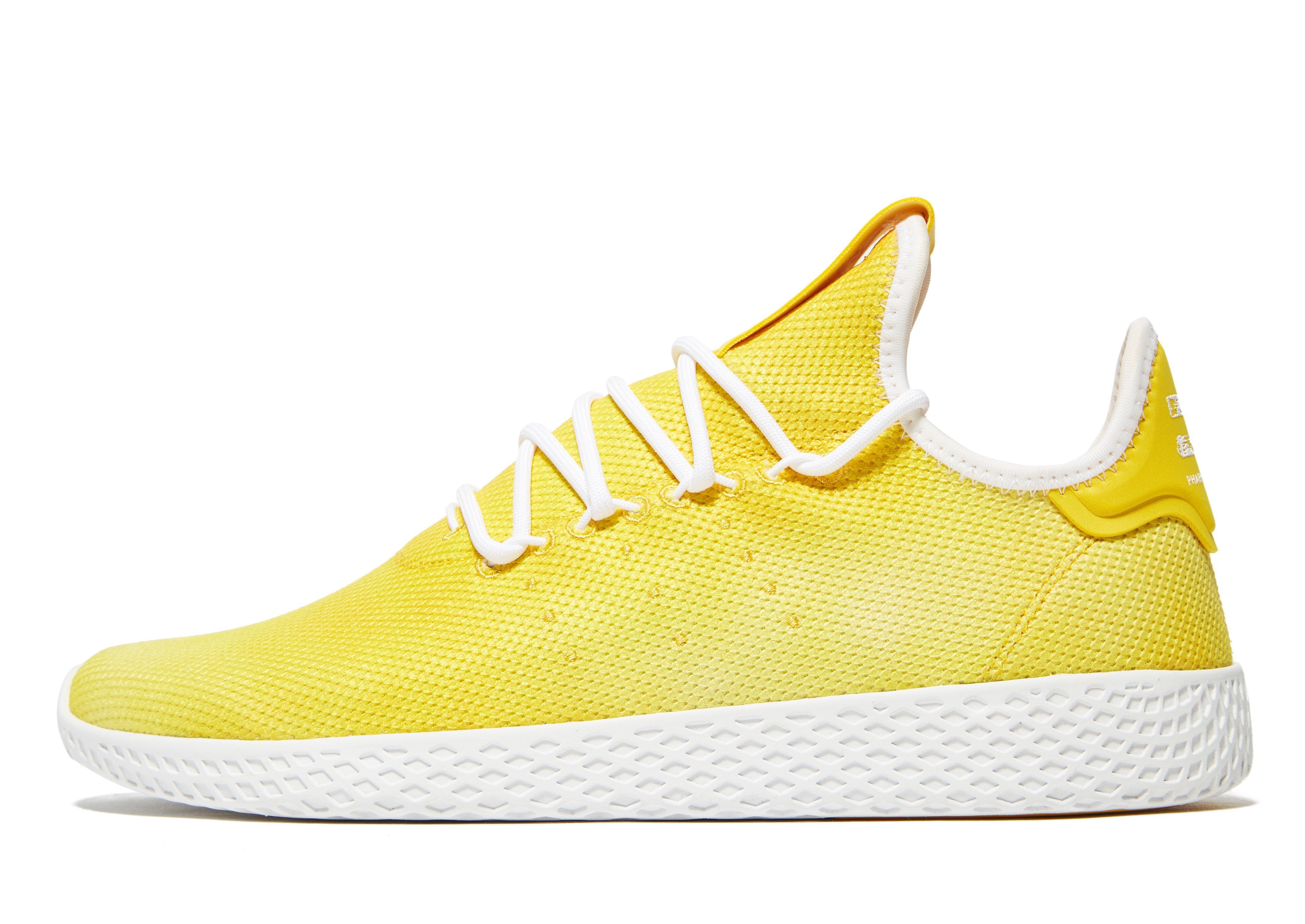 0ec2b5973 Lyst - adidas Originals X Pharrell Williams Holi Tennis Hu in Yellow