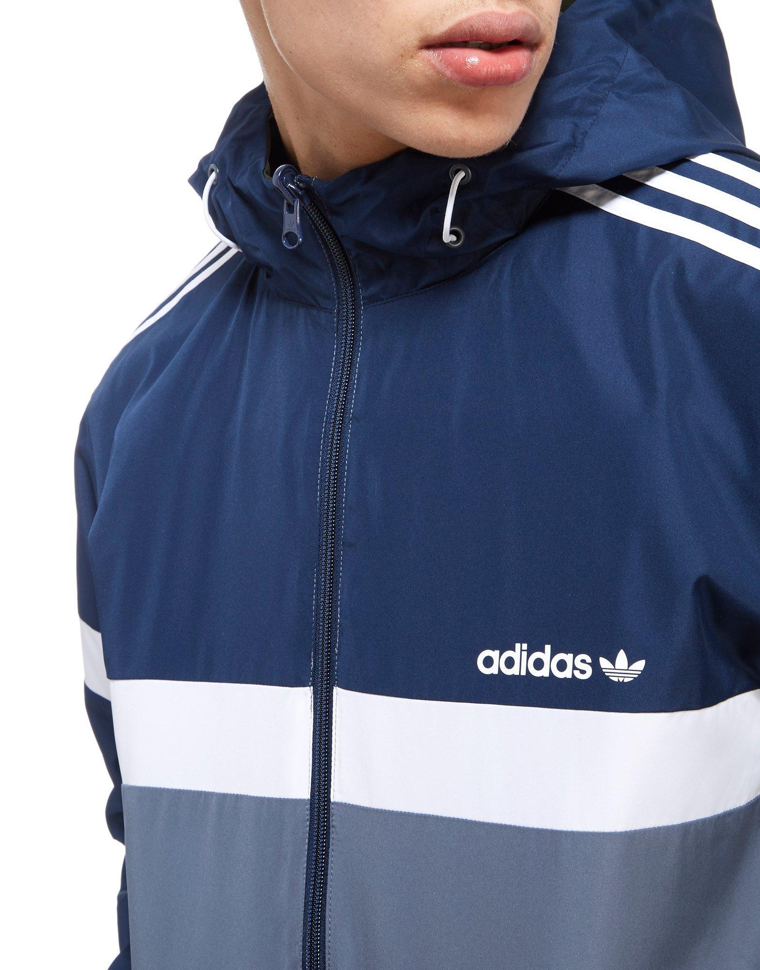 13ae0b01fe1a Lyst - adidas Originals Itasca Reversible Jacket in Blue for Men