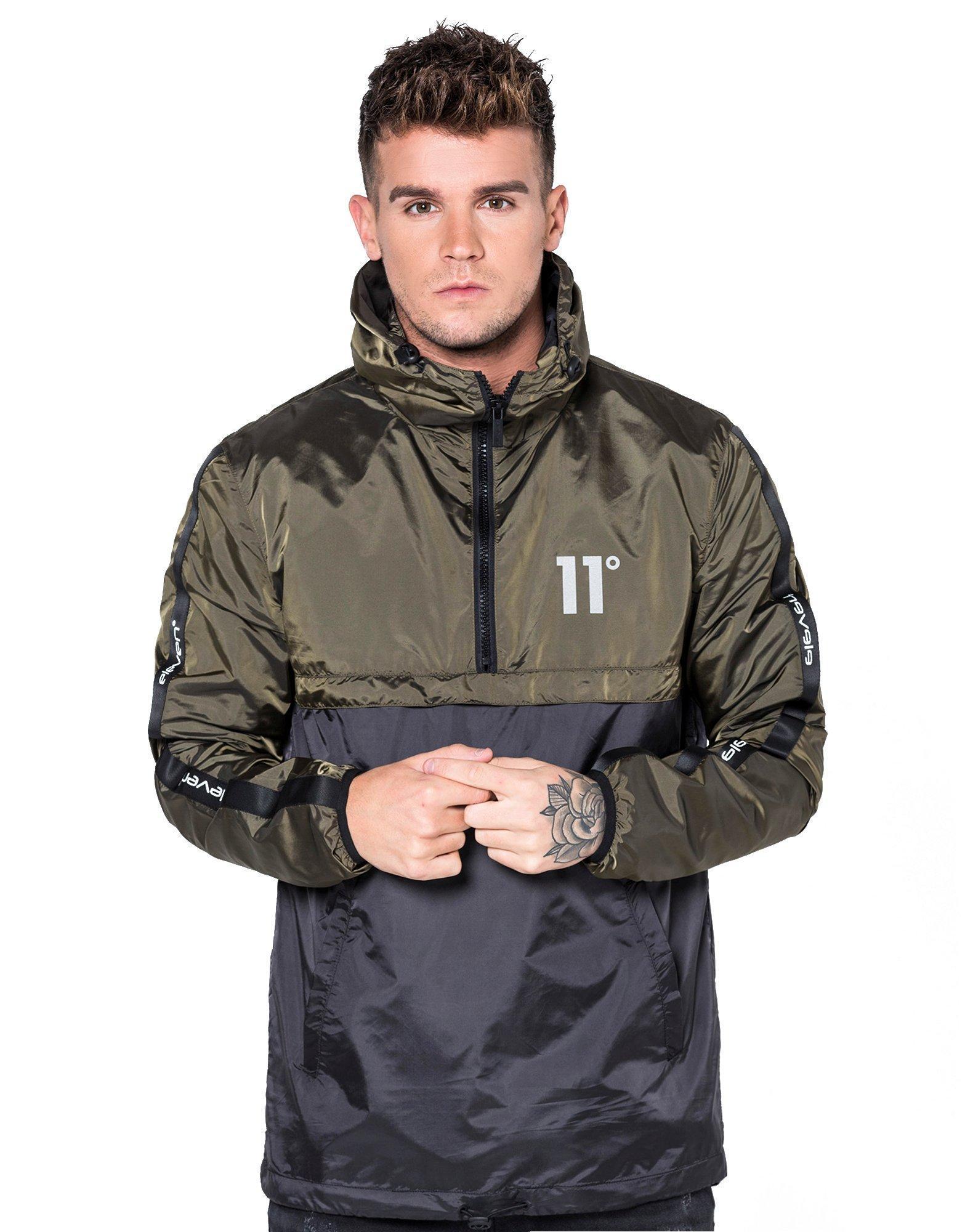 Lyst 11 Degrees Overhead Windrunner Jacket For Men