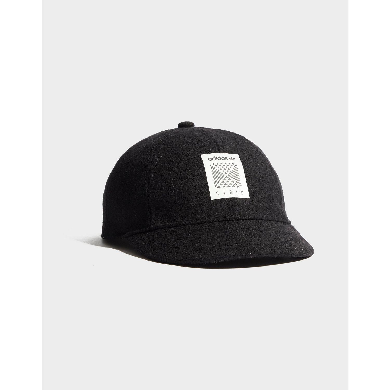fd6fbb16 adidas Originals Atric Baseball Cap in Black - Lyst
